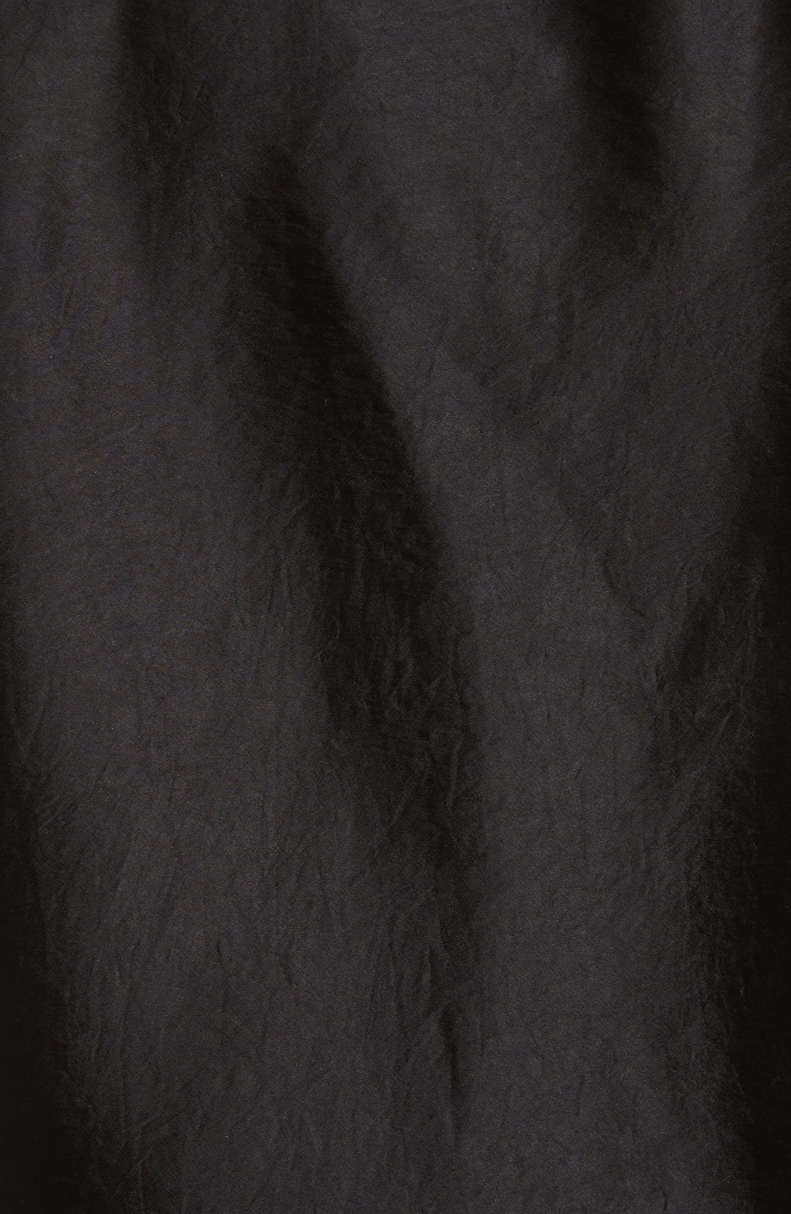Satin One-Sleeve Blouse,                             Alternate thumbnail 5, color,