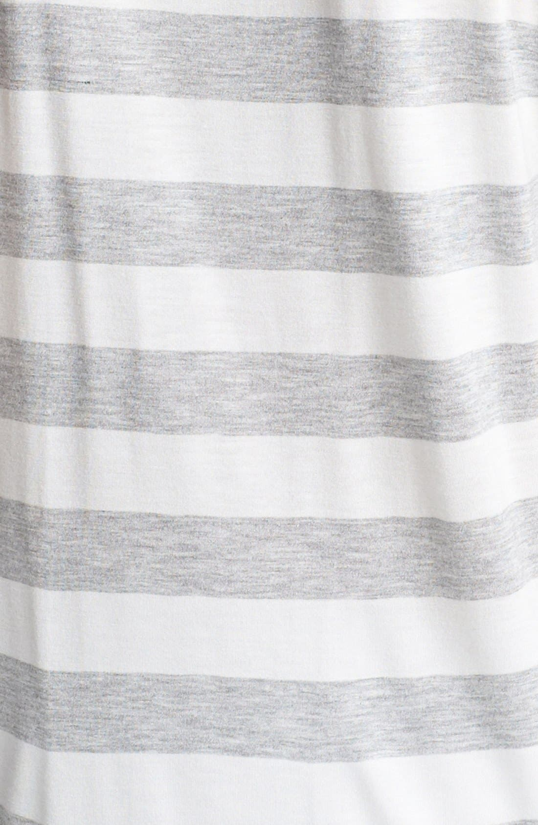 TWO BY VINCE CAMUTO,                             Stripe Cold Shoulder Tee,                             Alternate thumbnail 3, color,                             097