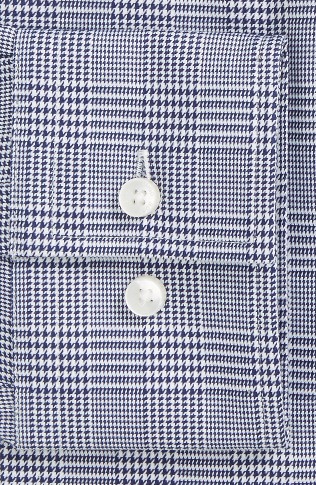 Slim Fit Plaid Dress Shirt,                             Alternate thumbnail 2, color,                             412