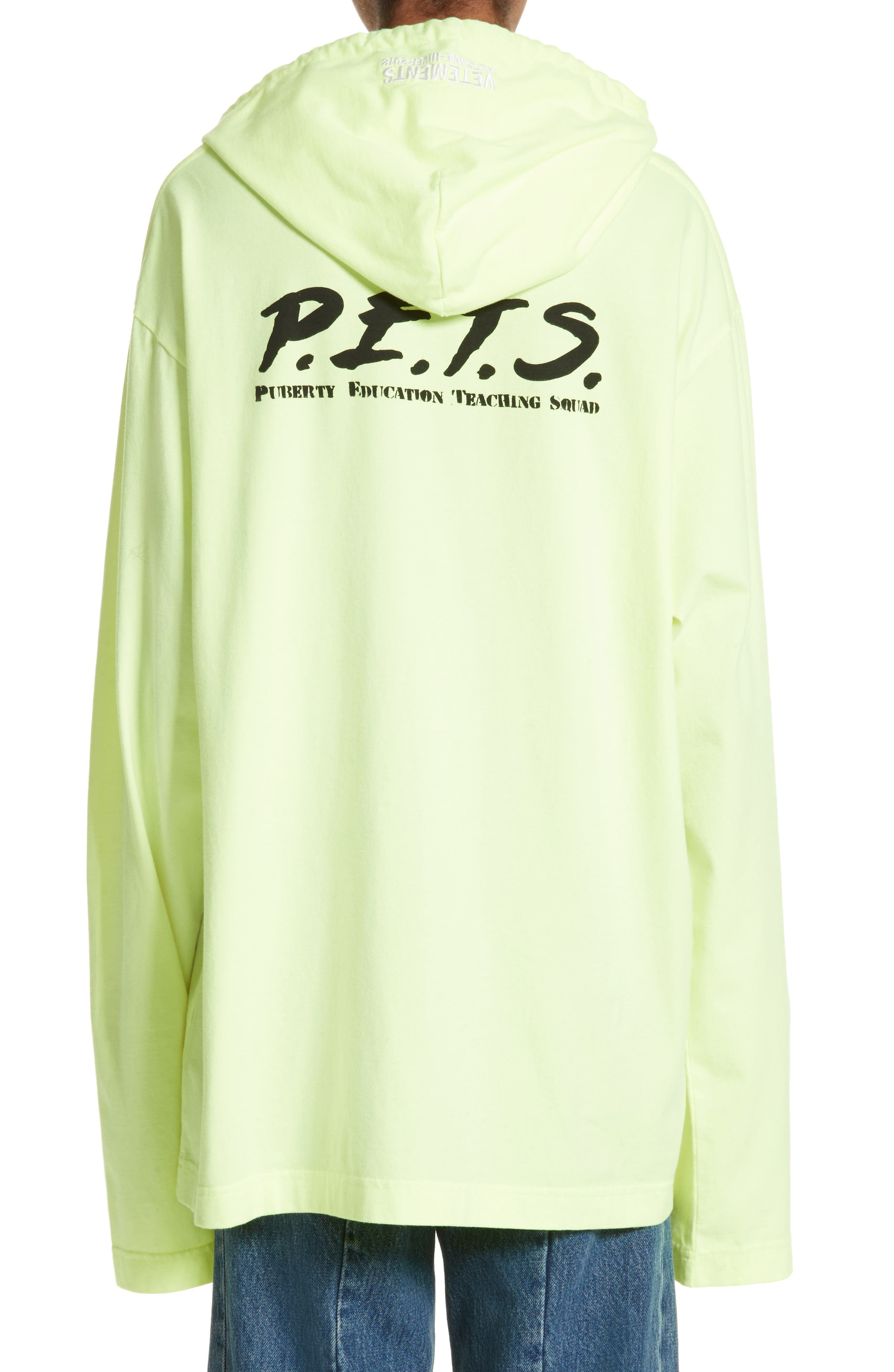 P.E.T.S. Jersey Pullover Hoodie,                             Alternate thumbnail 2, color,                             740