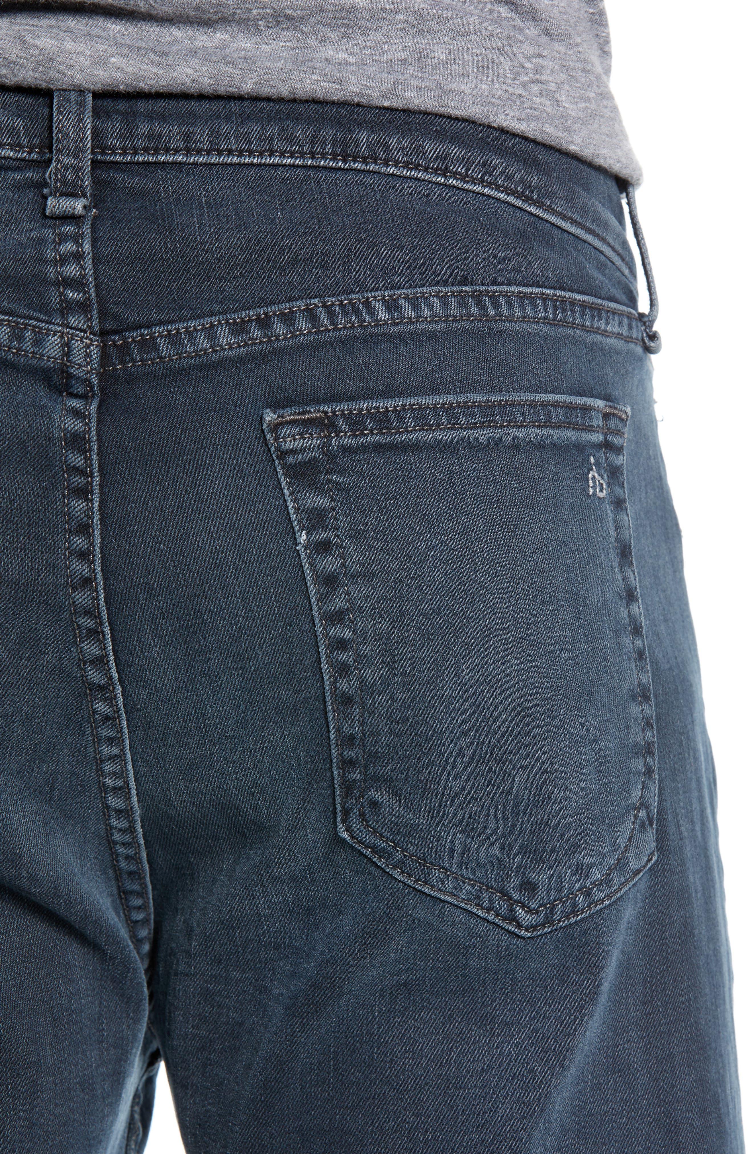 Fit 3 Slim Straight Leg Jeans,                             Alternate thumbnail 4, color,                             MINNA