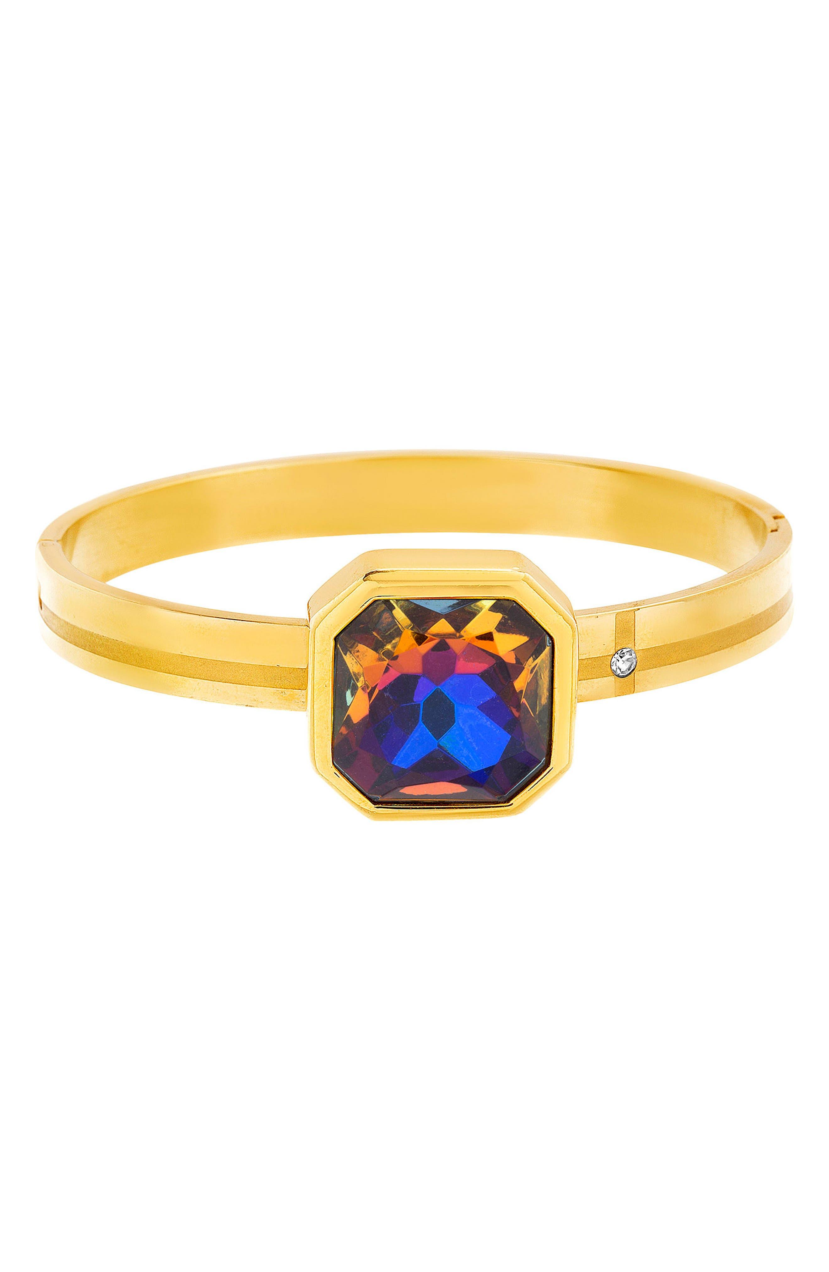Crystal Bracelet,                         Main,                         color, 710