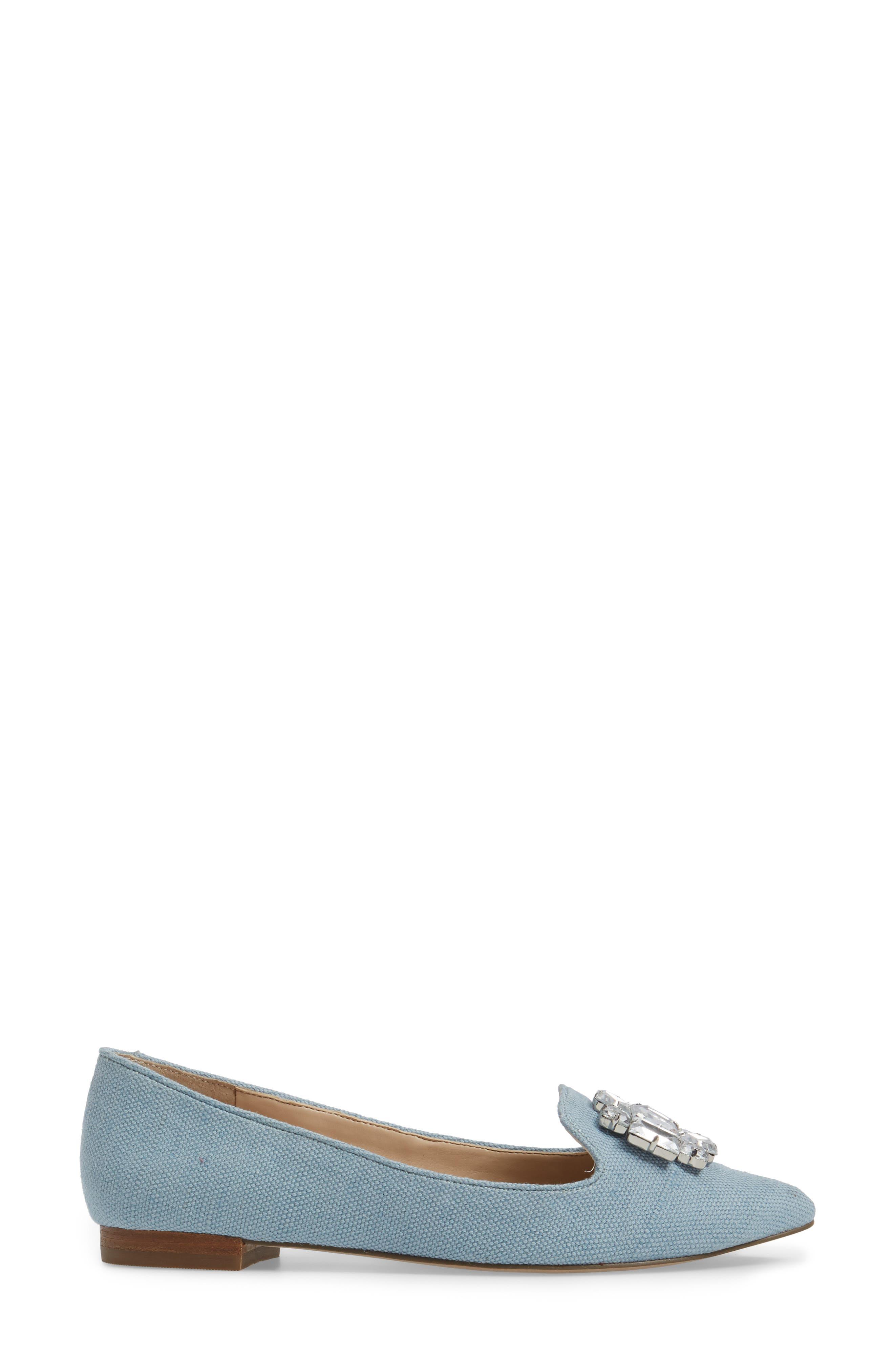 Libry Crystal Embellished Flat,                             Alternate thumbnail 13, color,