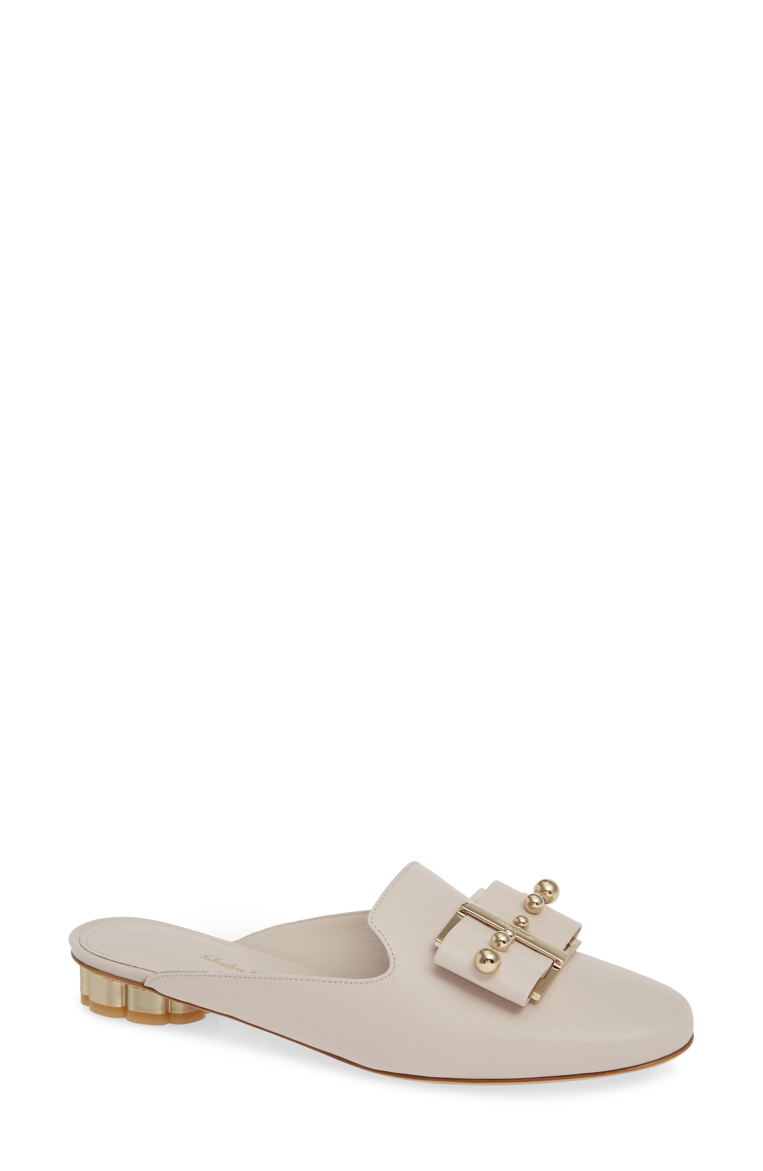 Sciacca Bow Mule, Main, color, JASMINE FLOWER