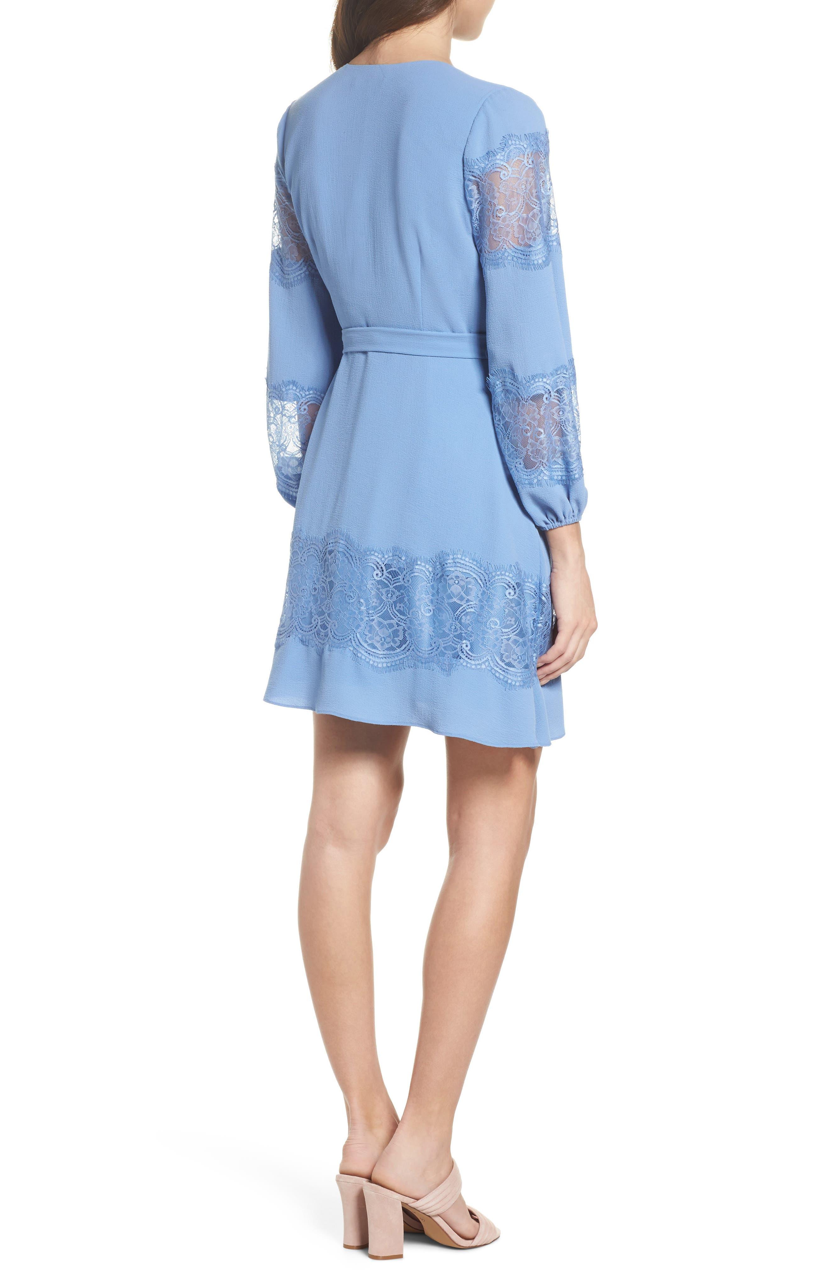 Lauryl Wrap Dress,                             Alternate thumbnail 2, color,                             450
