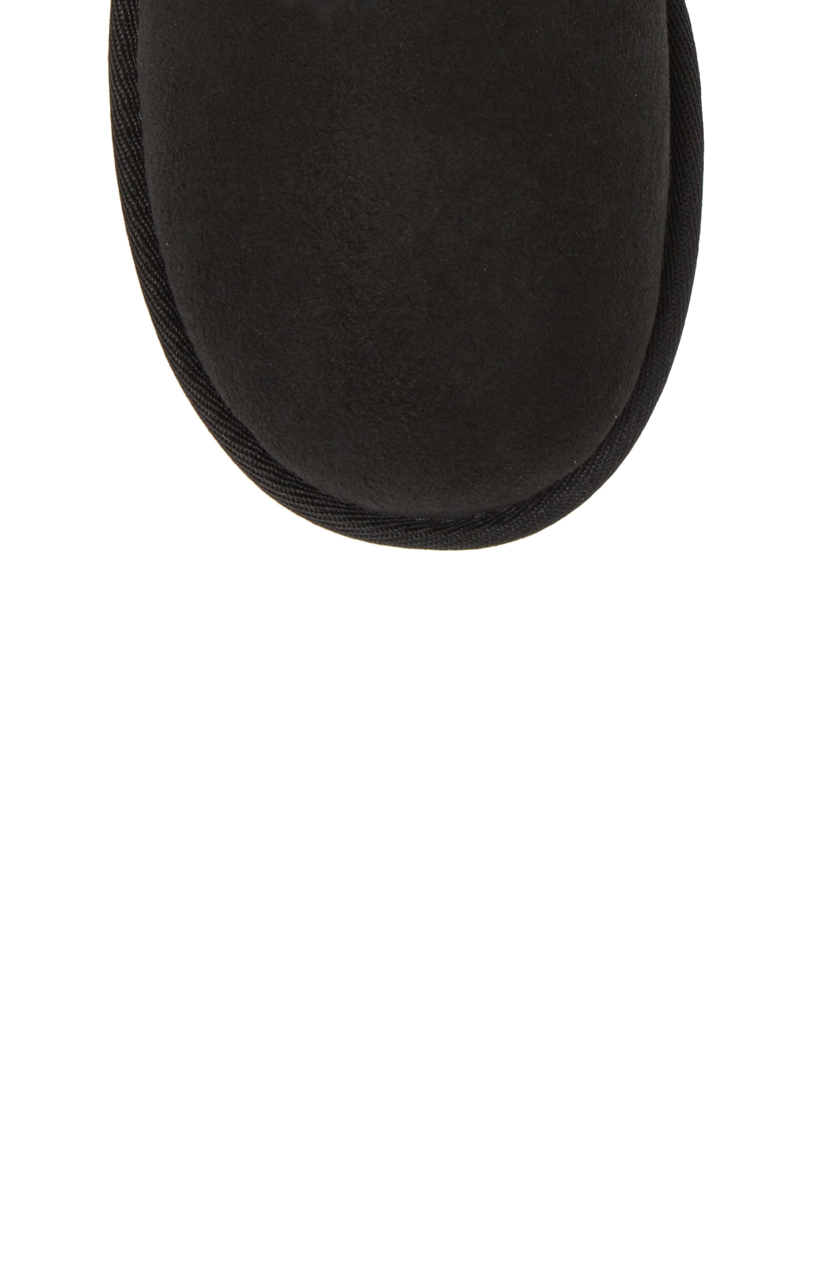 UGG<SUP>®</SUP>,                             Bailey Bow II Water Resistant Genuine Shearling Boot,                             Alternate thumbnail 5, color,                             BLACK SUEDE