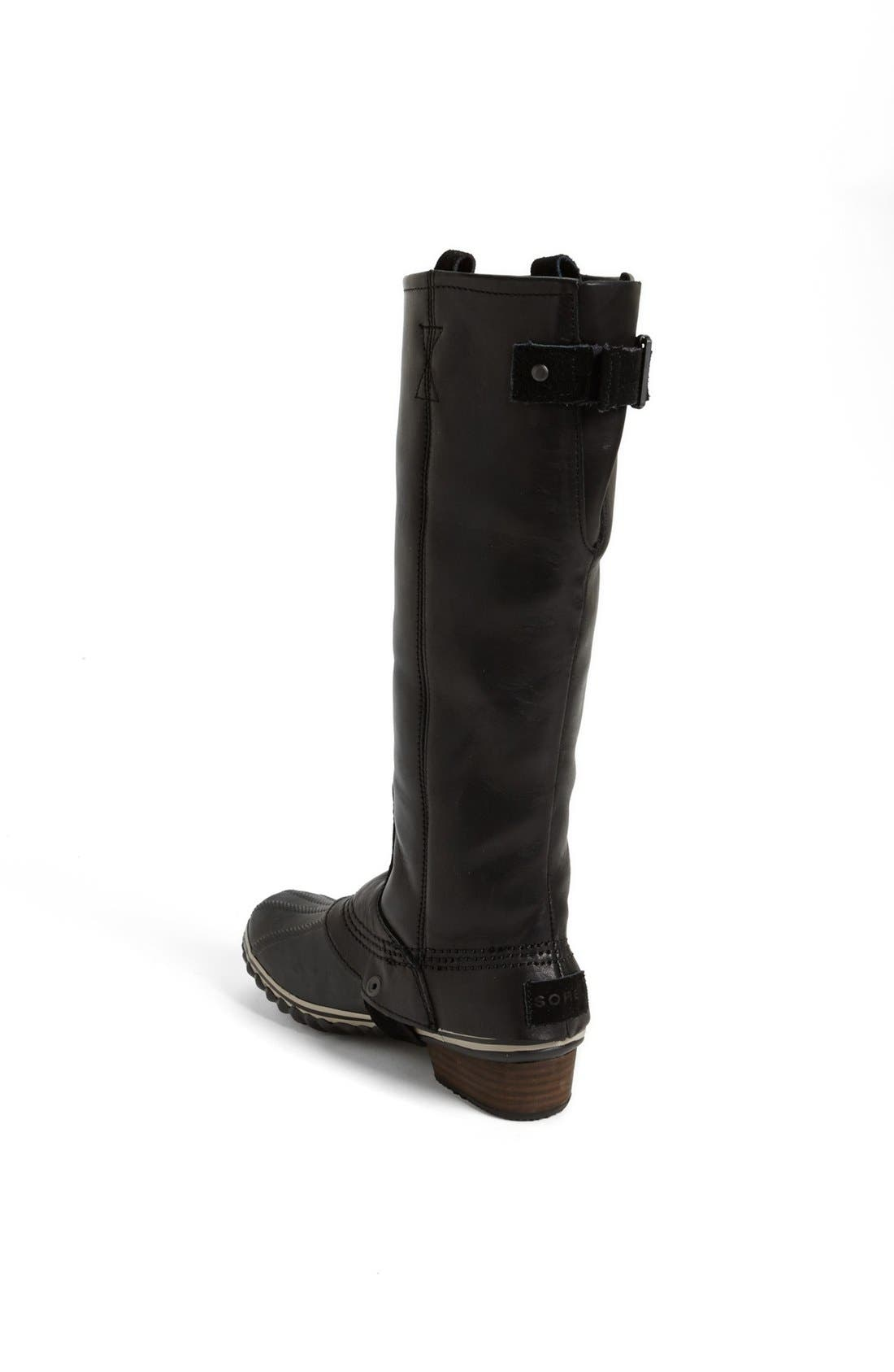 'Slimpack' Riding Boot,                             Alternate thumbnail 4, color,                             010