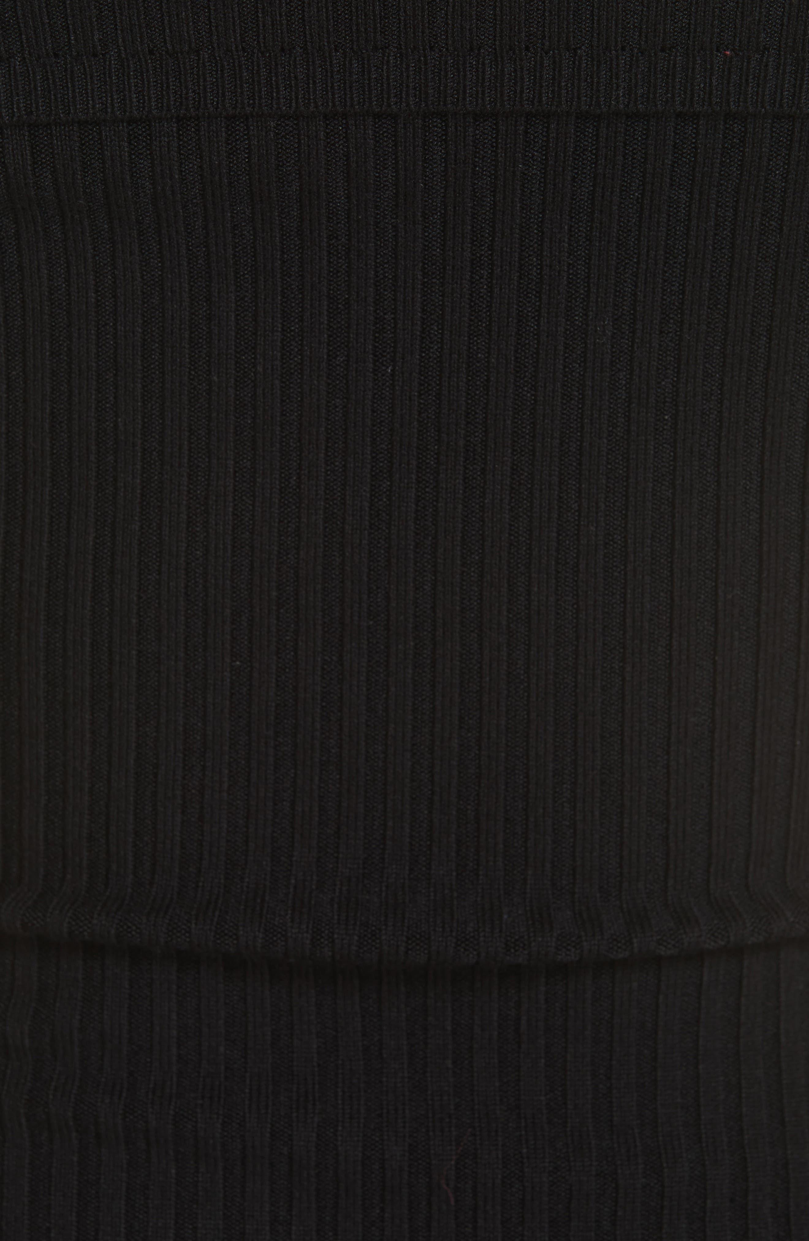 Too Good Bodysuit,                             Alternate thumbnail 5, color,                             BLACK