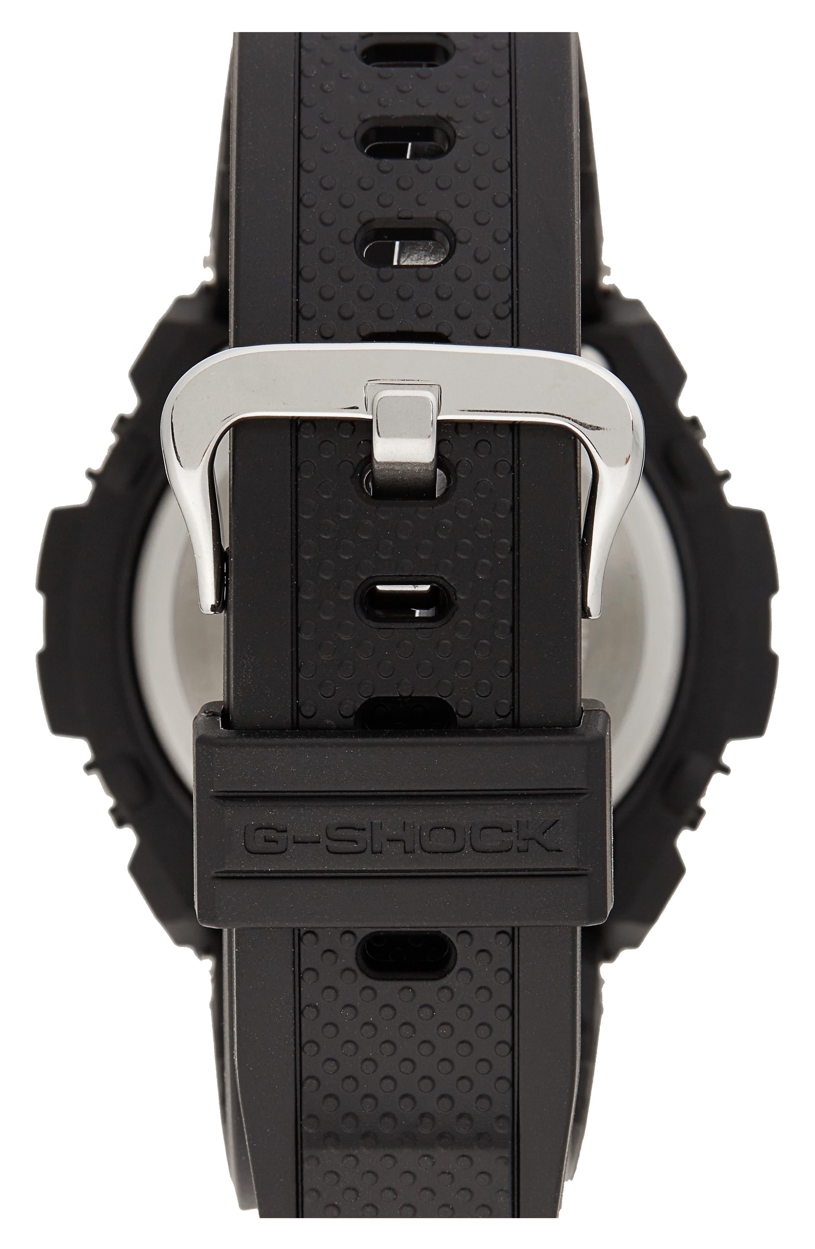 Steel Ana-Digi Watch, 49mm,                             Alternate thumbnail 2, color,                             001