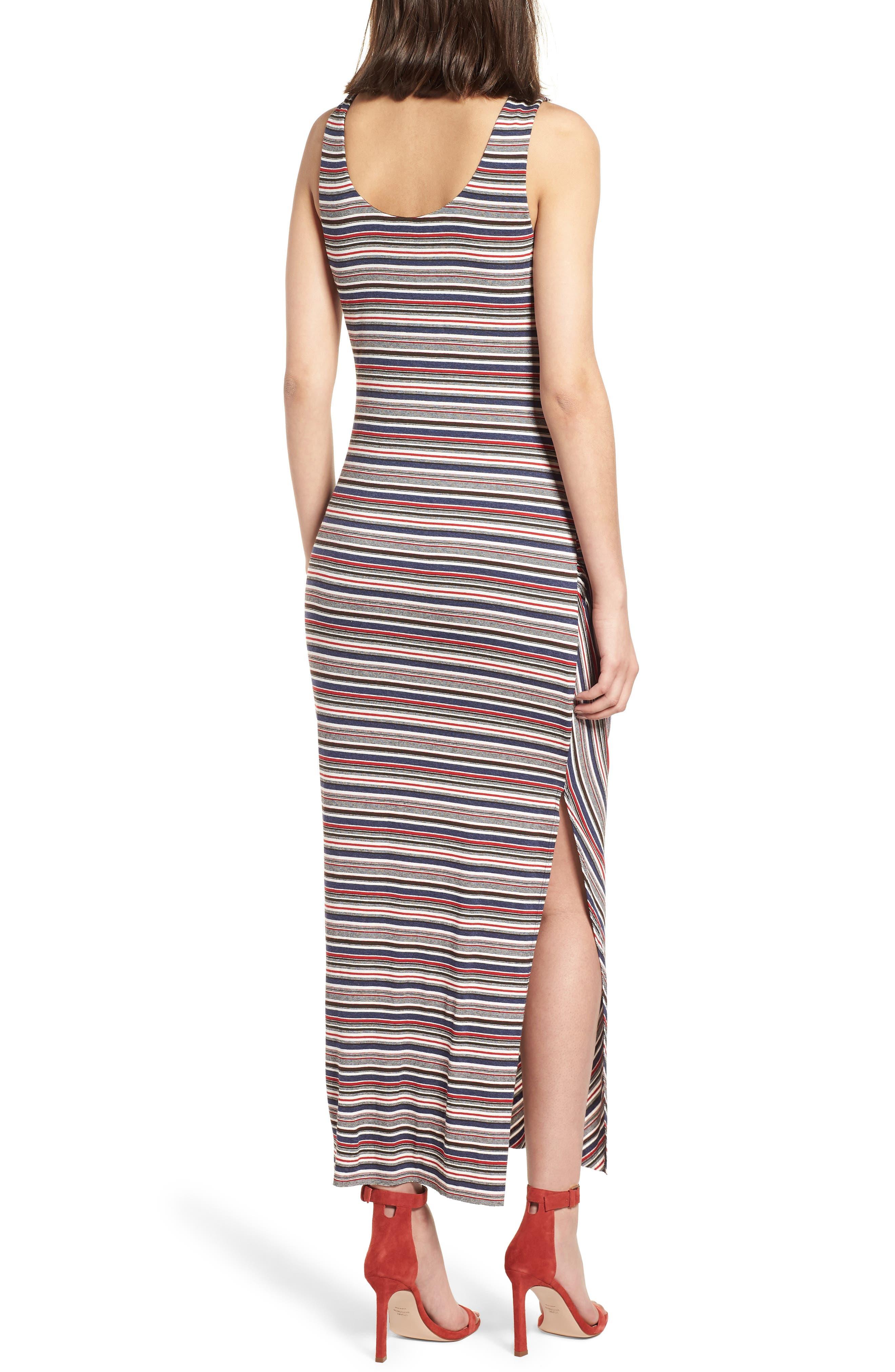 Duststorm Stripe Maxi Tank Dress,                             Alternate thumbnail 2, color,                             411