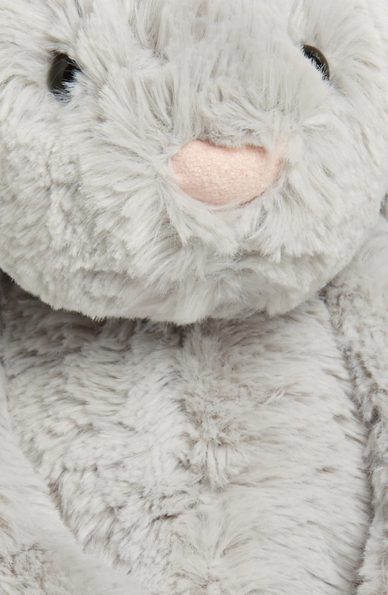 'Bashful Bunny' Stuffed Animal,                             Alternate thumbnail 4, color,                             GREY