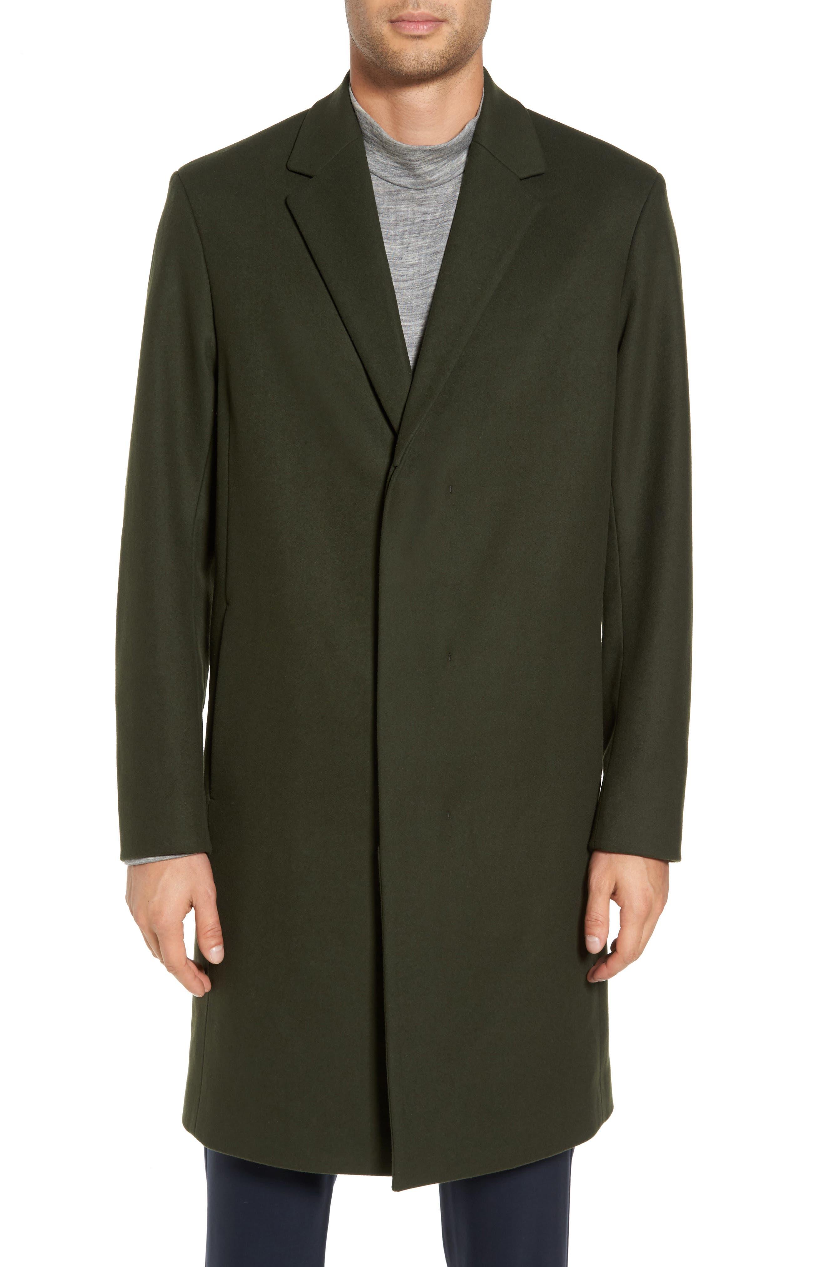 Bower Melton Wool Blend Topcoat,                             Alternate thumbnail 11, color,