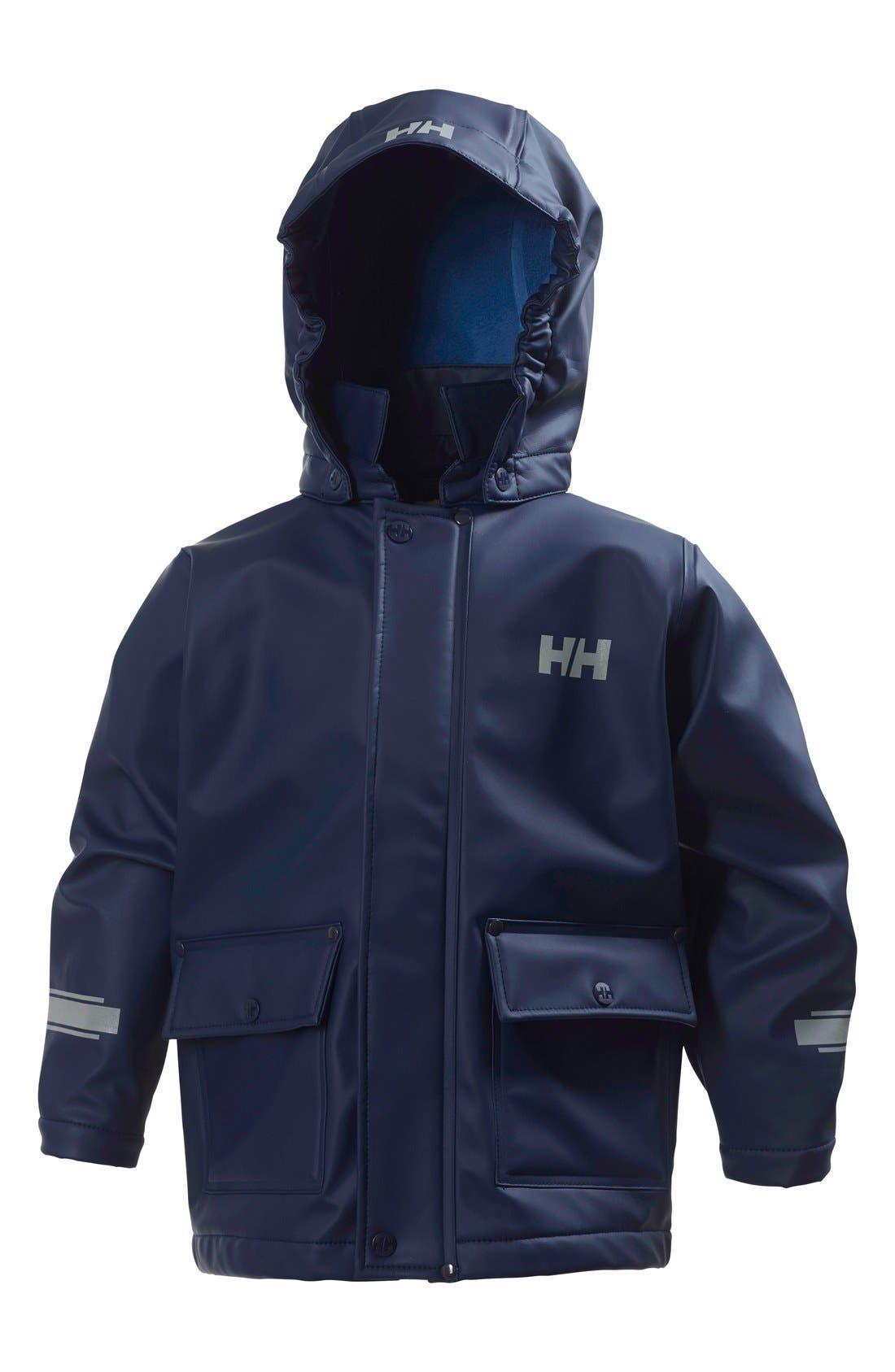 Juell Hooded Waterproof Jacket,                         Main,                         color, 400