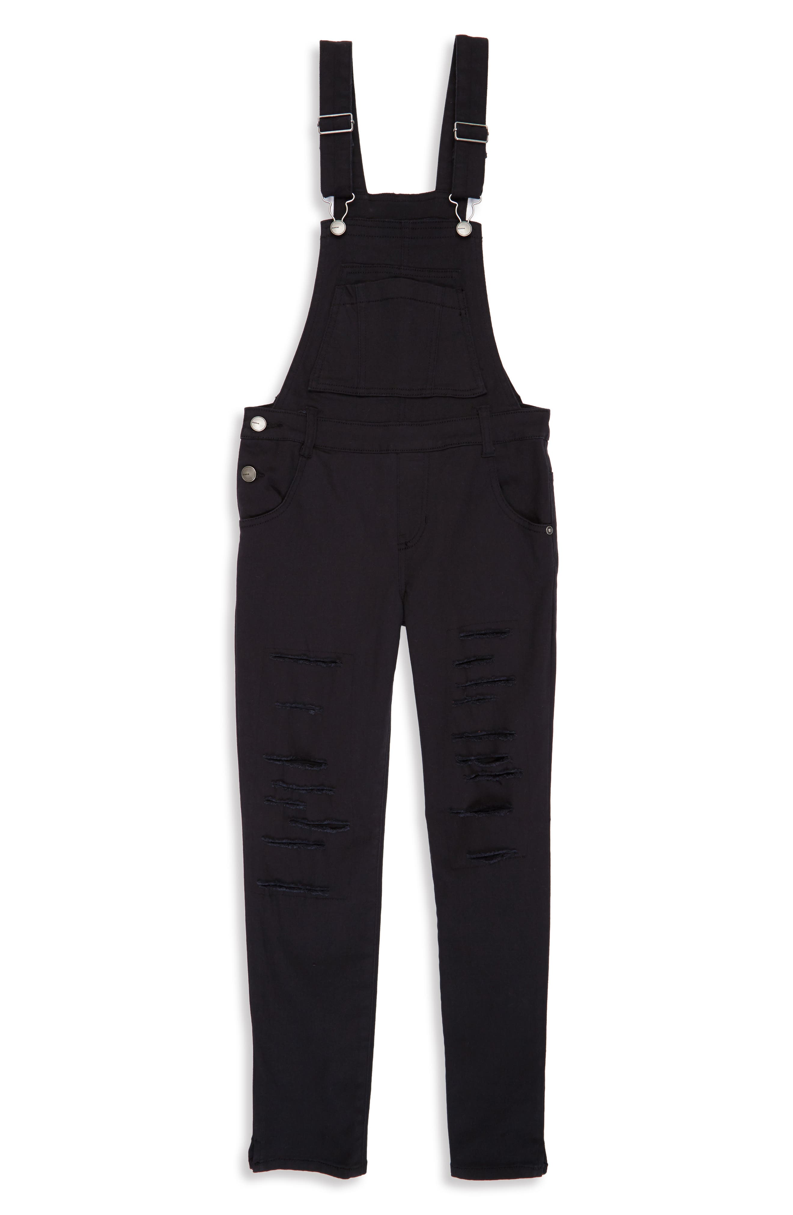 Destroyed Overalls,                         Main,                         color, 001
