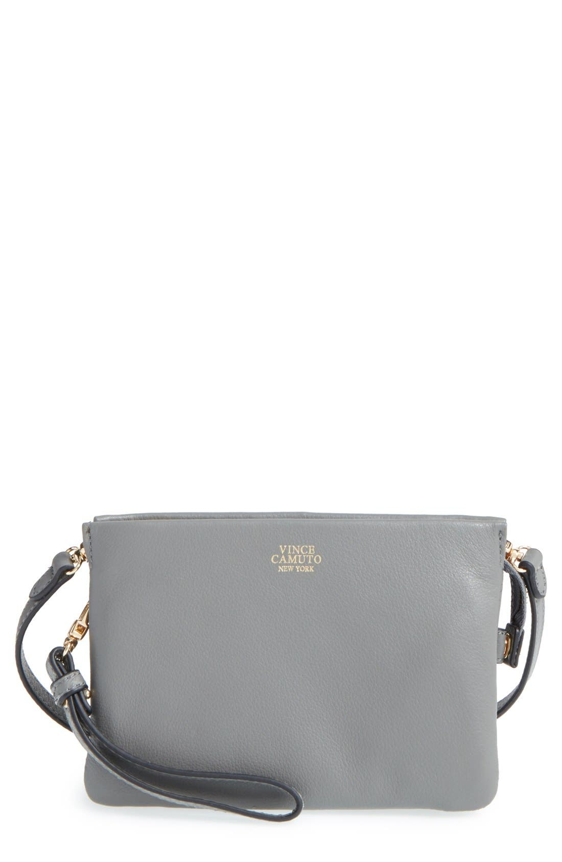 'Cami' Leather Crossbody Bag,                             Main thumbnail 4, color,