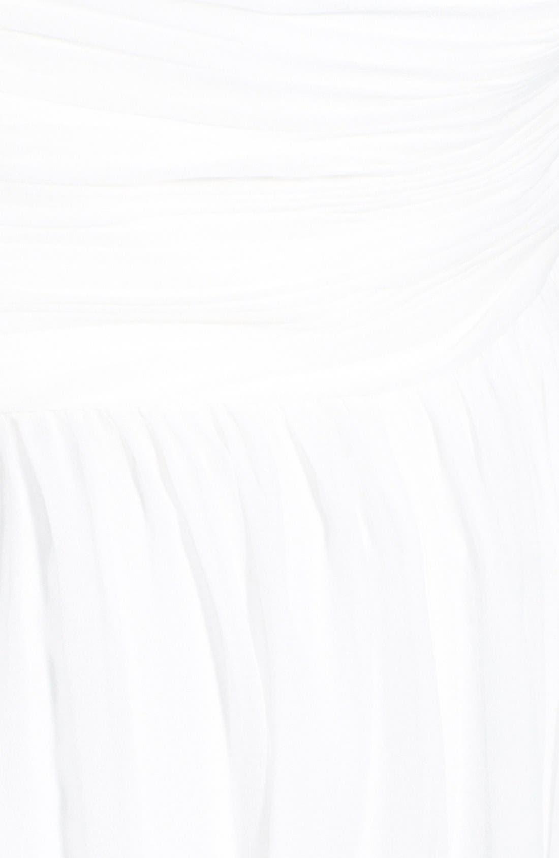 'Morgan' Strapless Silk Chiffon Dress,                             Alternate thumbnail 129, color,