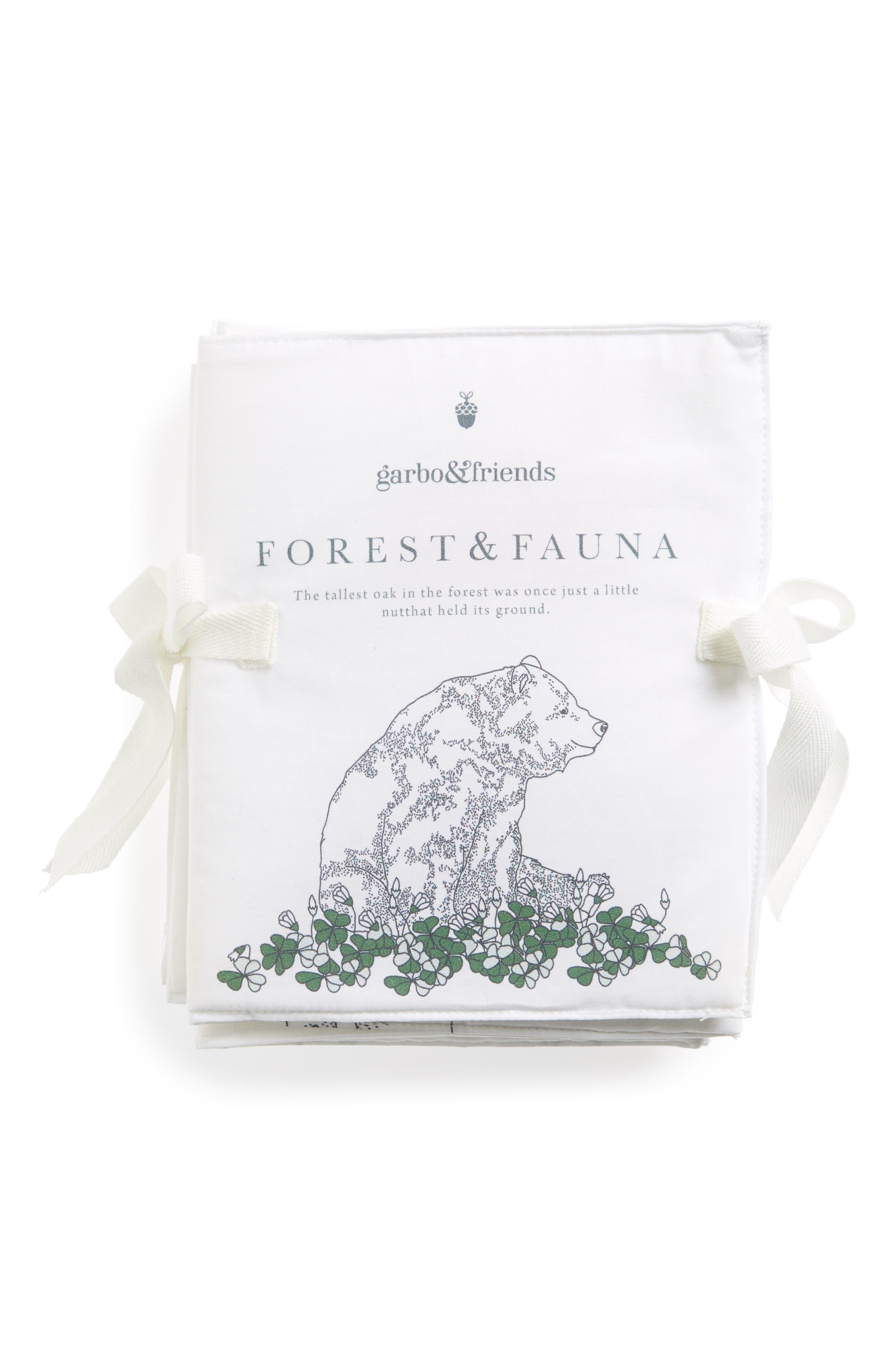 Flora & Fauna Fabric Book,                         Main,                         color, 100