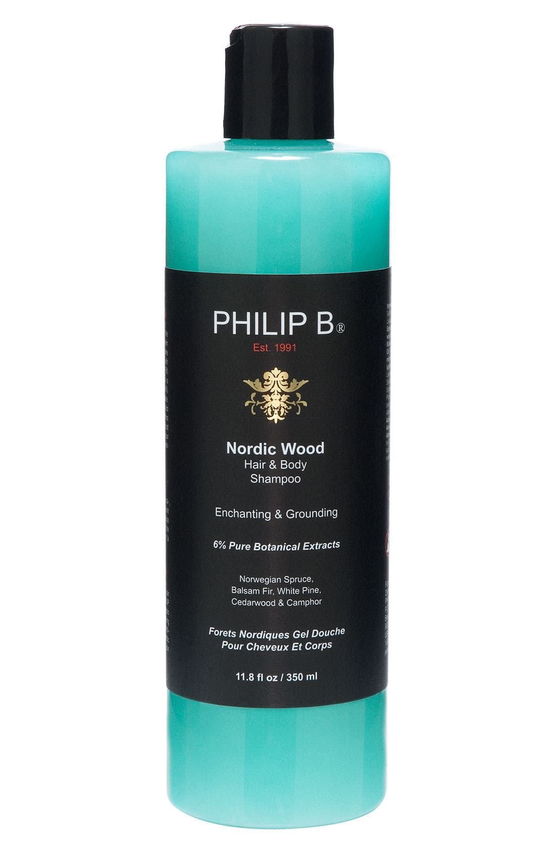 SPACE.NK.apothecary PHILIP B<sup>®</sup> Nordic Wood Hair & Body Shampoo,                         Main,                         color, 000