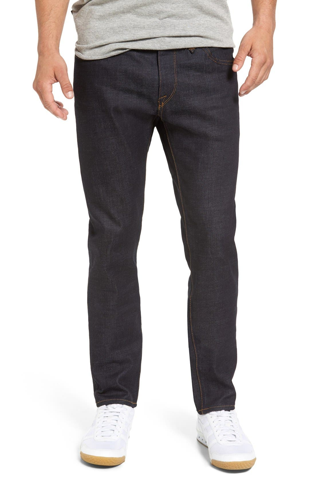 'Solver' Tapered Jeans,                             Main thumbnail 4, color,