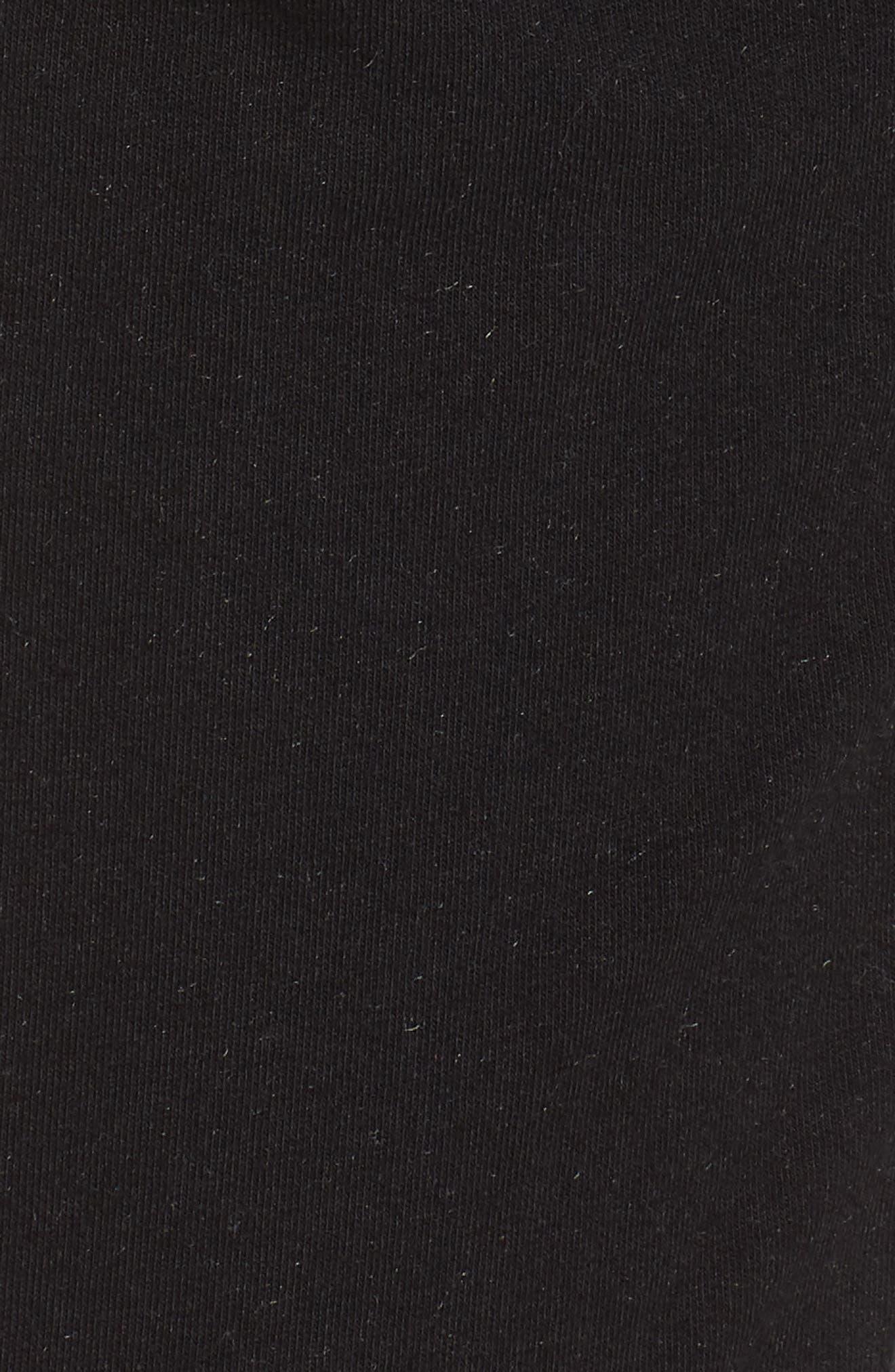 Lowsen Split Hem Sweatpants,                             Alternate thumbnail 6, color,                             001