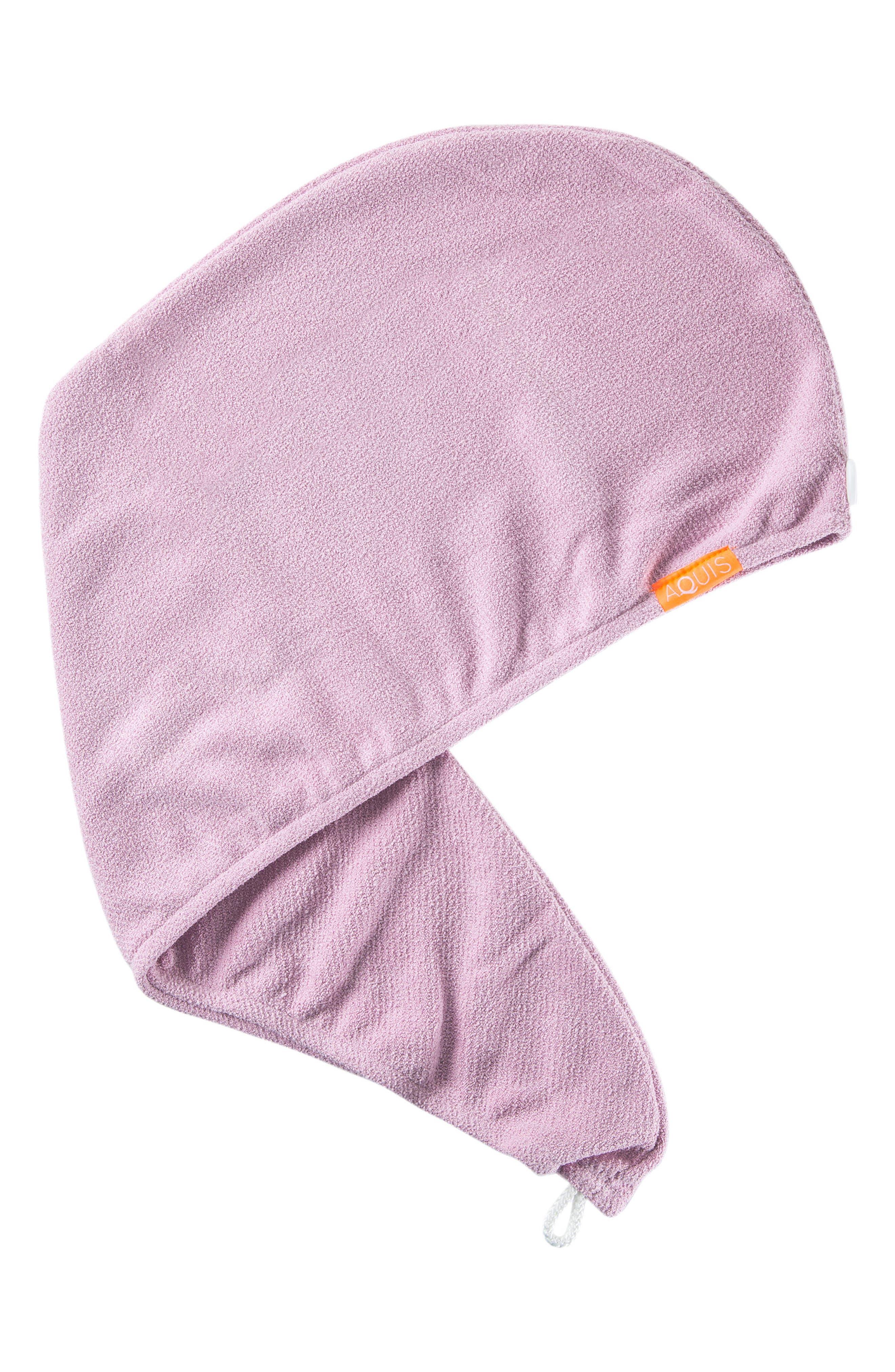 Lisse Luxe Desert Rose Hair Turban,                         Main,                         color, DESERT ROSE
