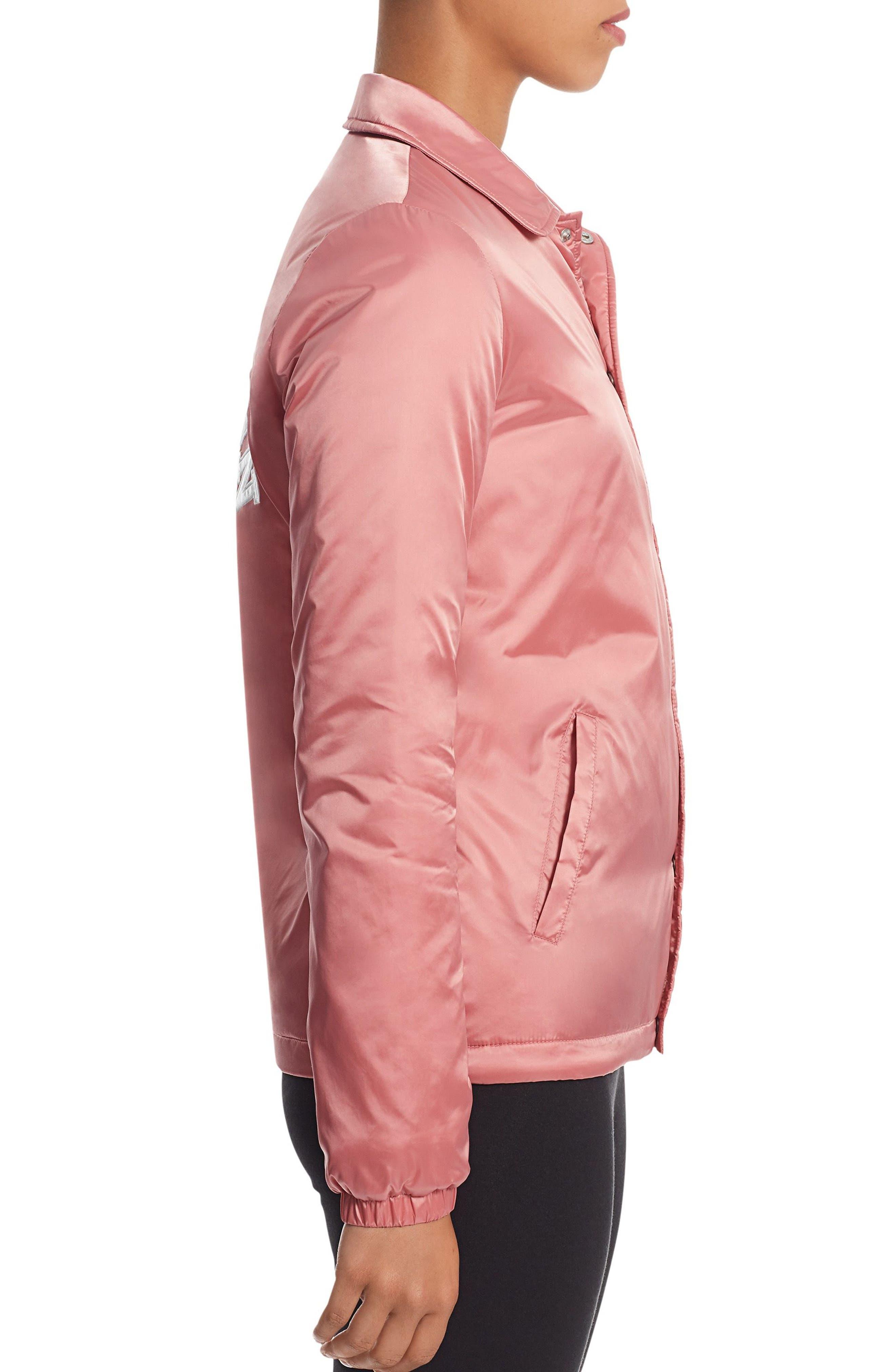 Satin Coach's Jacket,                             Alternate thumbnail 3, color,                             650