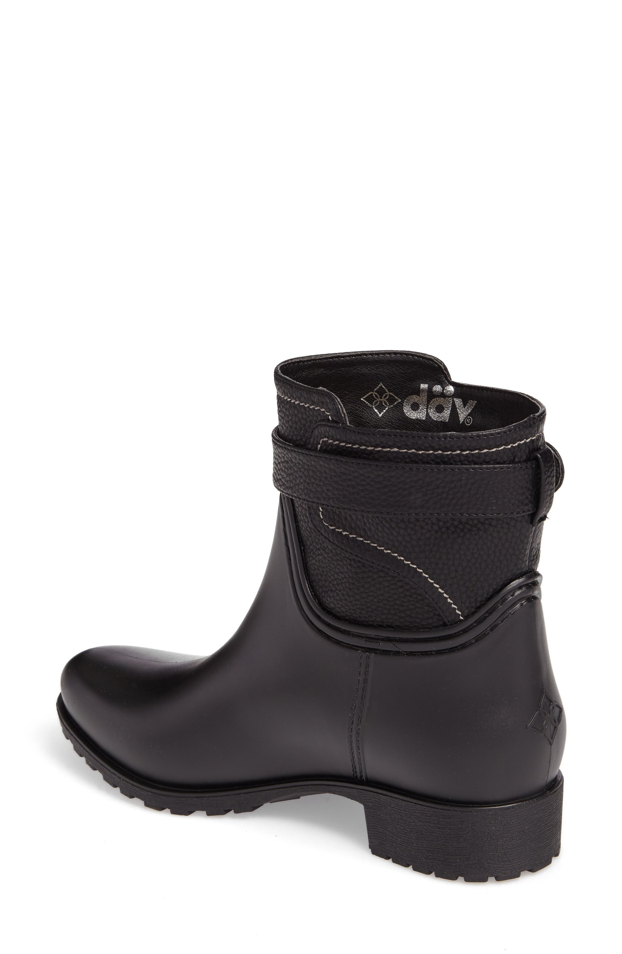 Bowie Faux Water Resistant Mid Boot,                             Alternate thumbnail 2, color,                             001