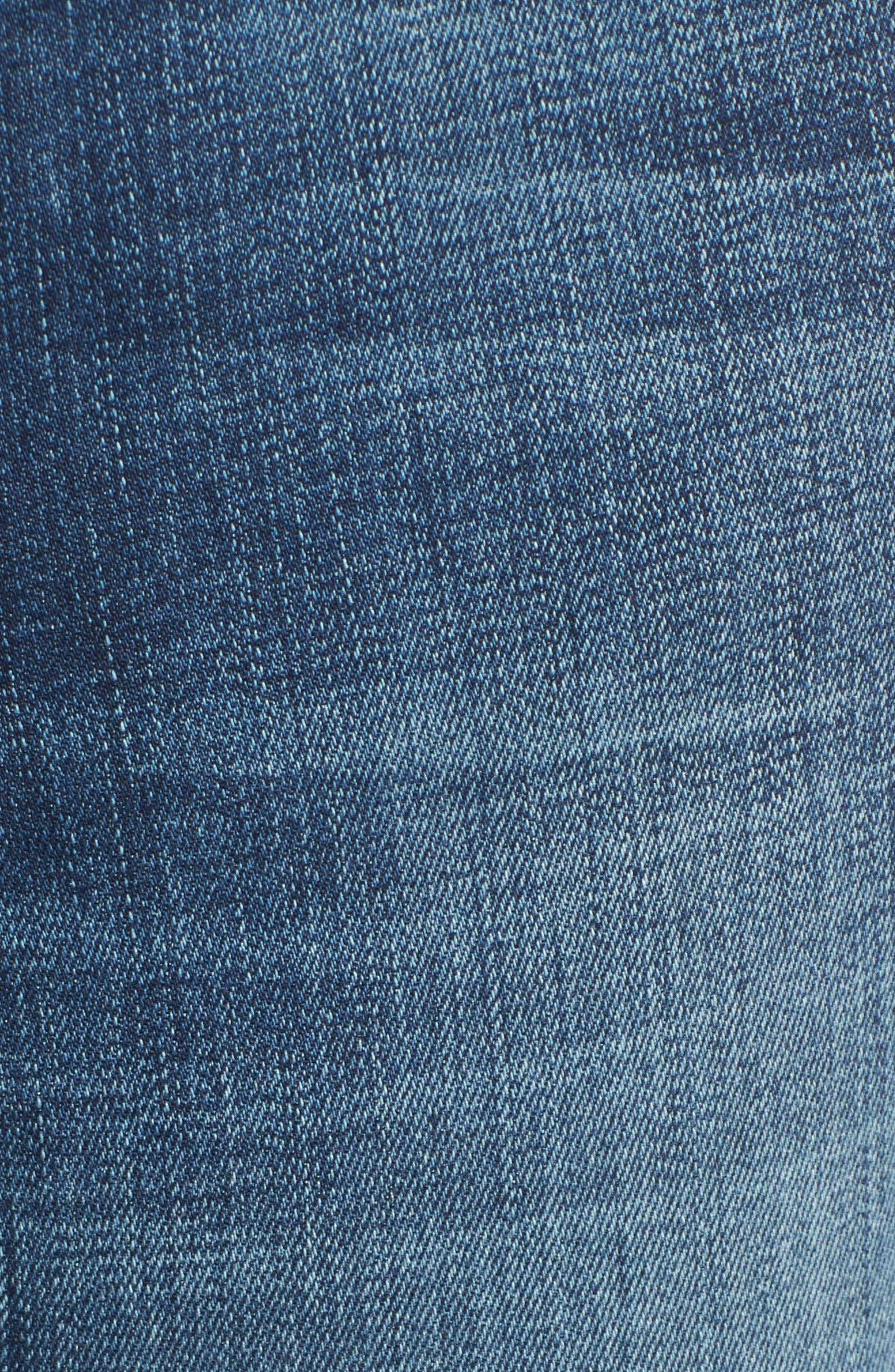 Andie Skinny Crop Jeans,                             Alternate thumbnail 5, color,
