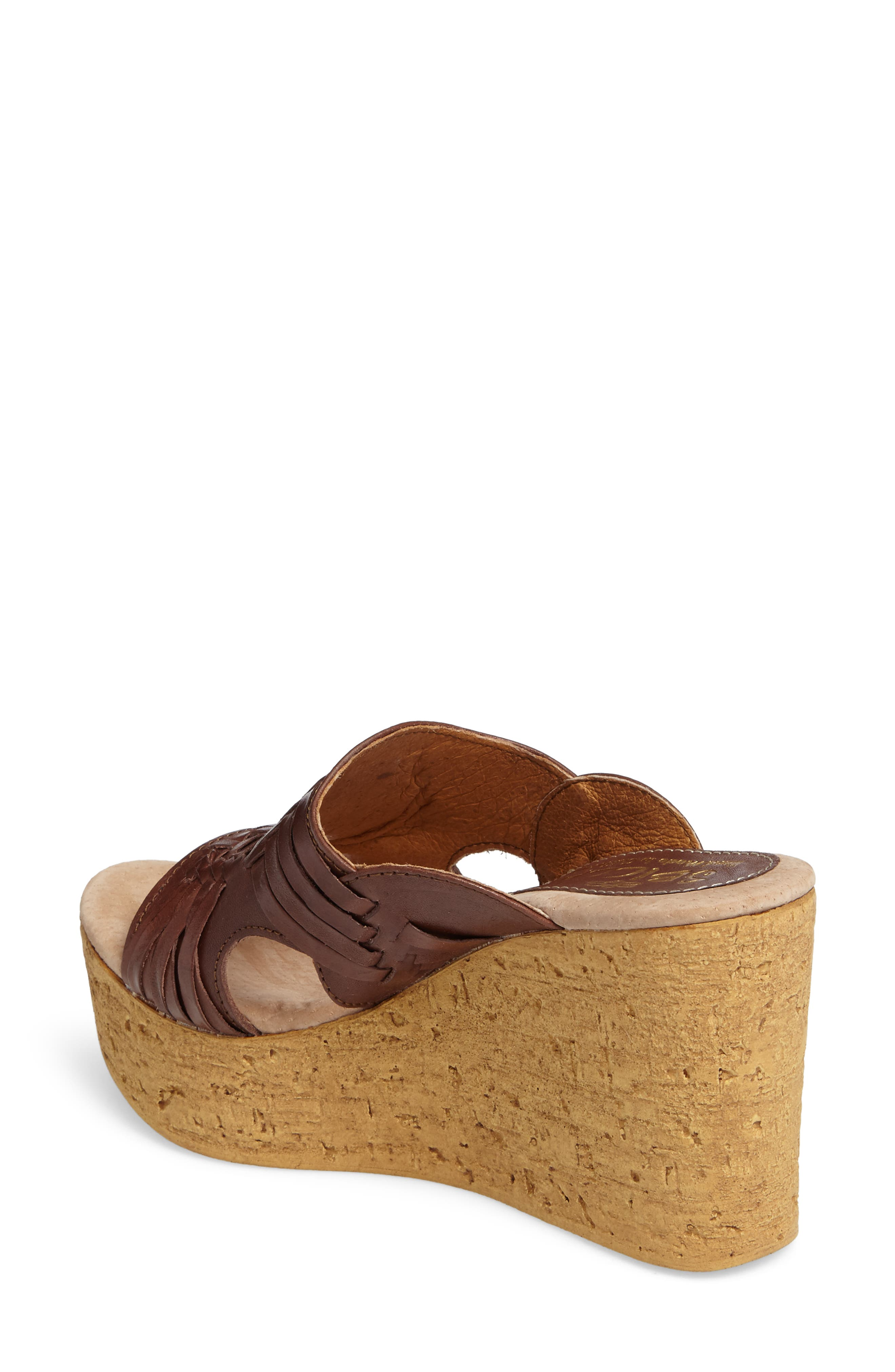 Manny Platform Wedge,                             Alternate thumbnail 4, color,