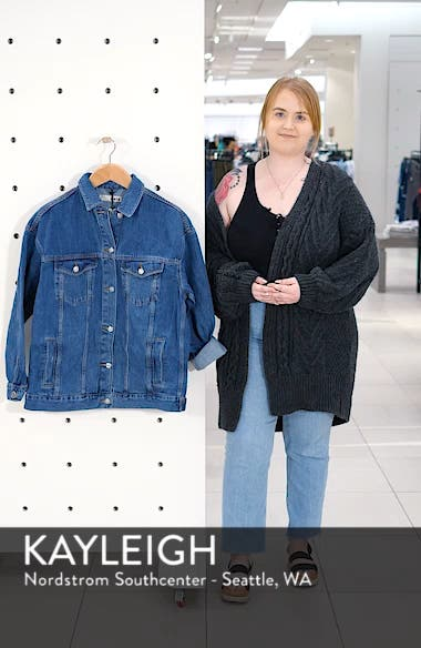 Oversized Denim Jacket, sales video thumbnail
