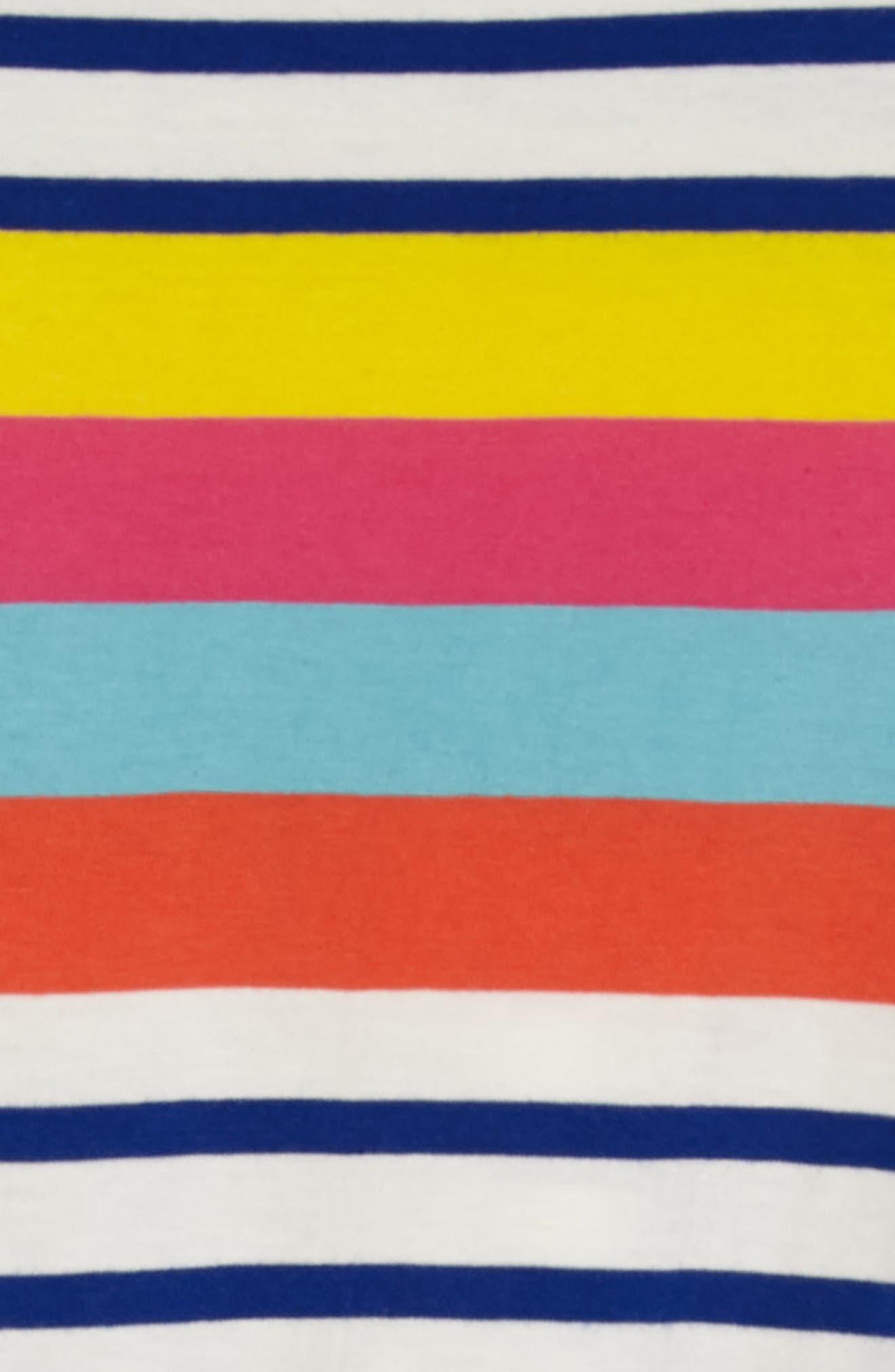 Tie Waist Jersey Dress,                             Alternate thumbnail 3, color,                             706