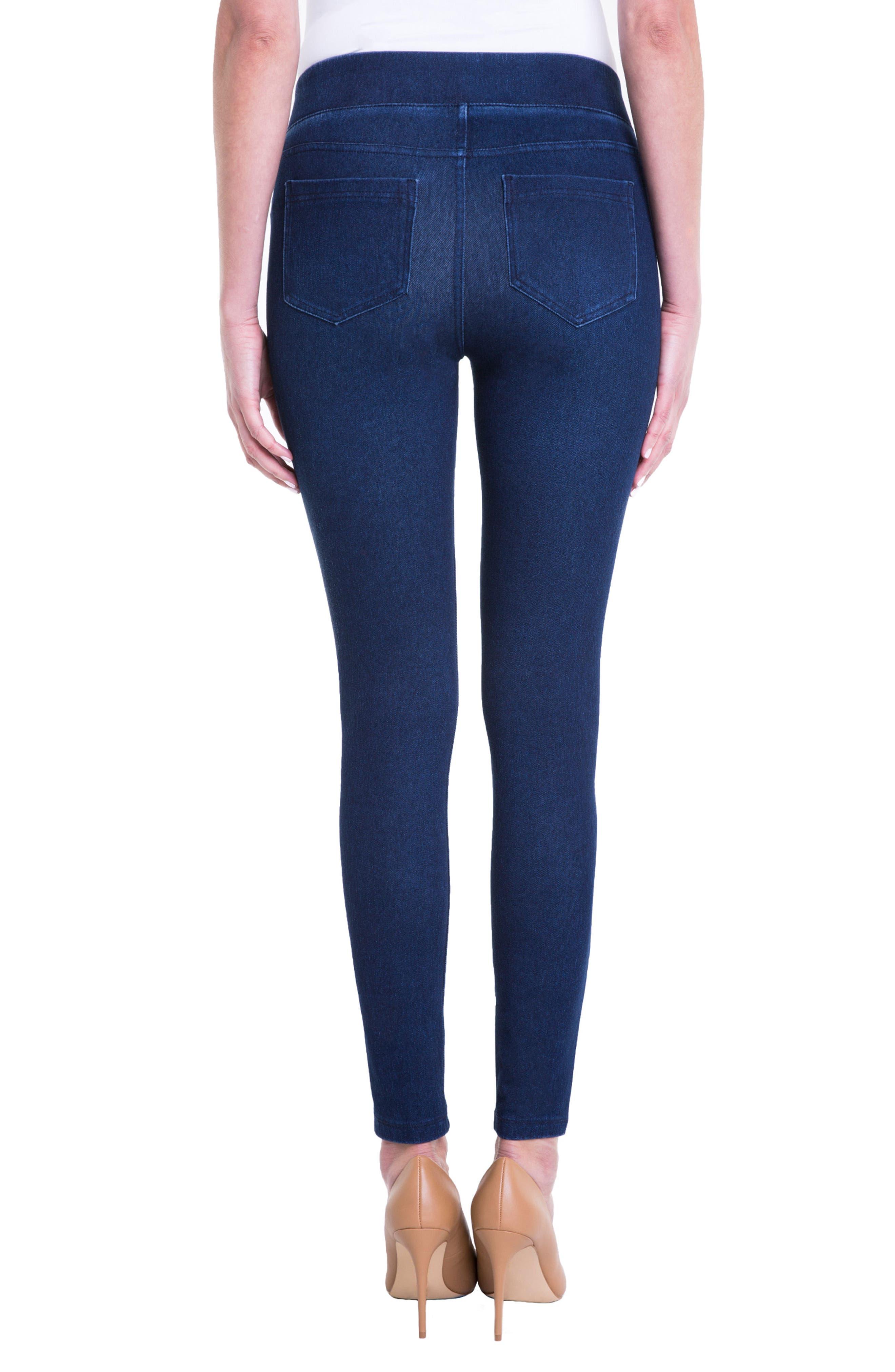 Sienna Pull-On Ankle Legging Jeans,                             Alternate thumbnail 2, color,                             403