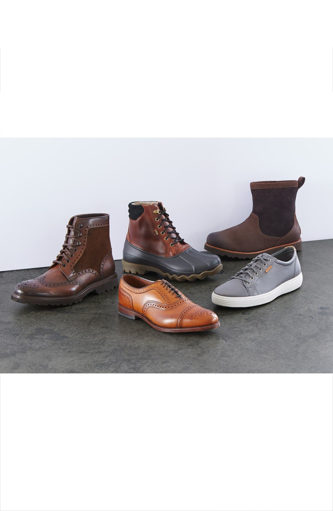 'Strand' Cap Toe Oxford,                             Alternate thumbnail 6, color,                             BROWN BURNISHED CALF