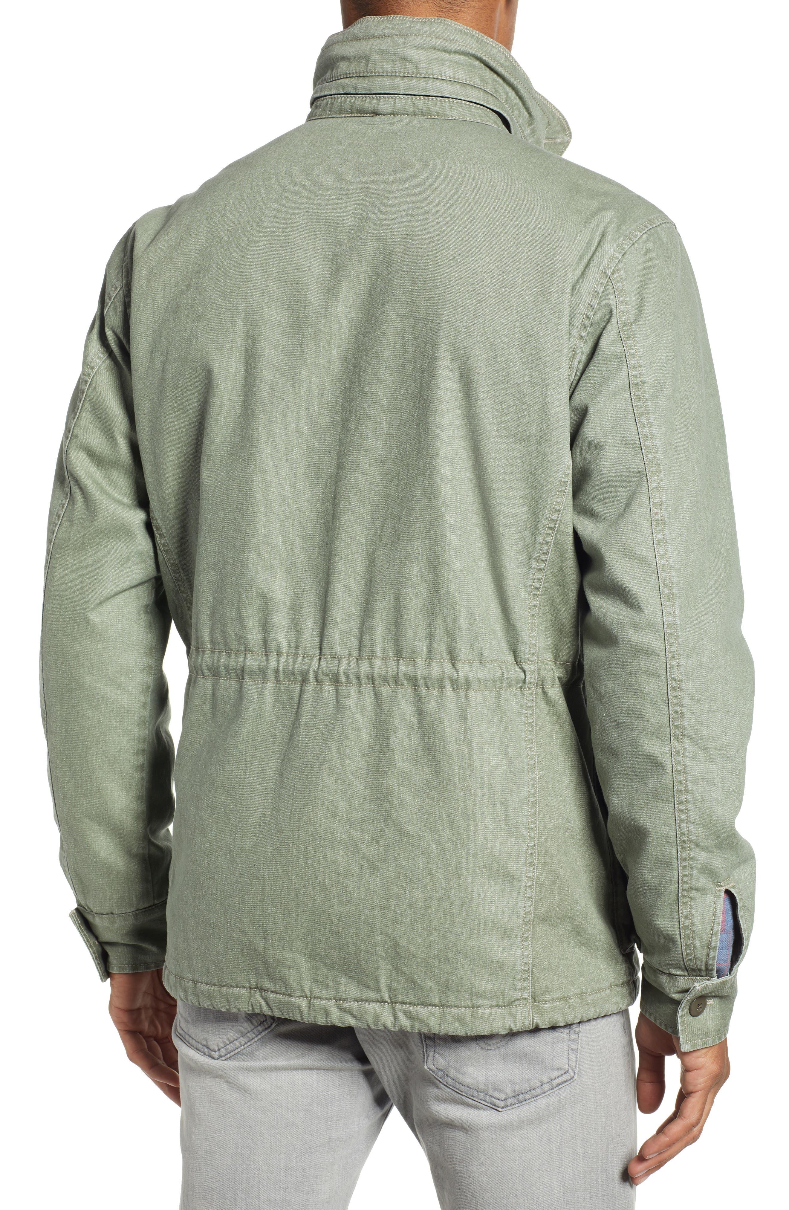 Vintage M-65 Jacket,                             Alternate thumbnail 2, color,                             OLIVE