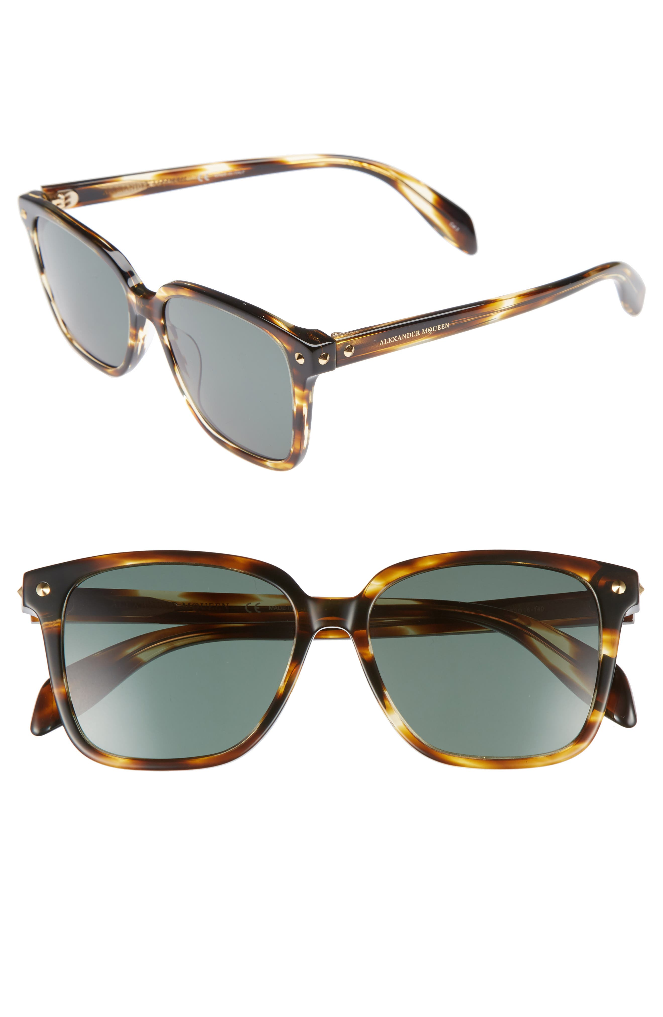 53mm Square Sunglasses,                             Main thumbnail 2, color,