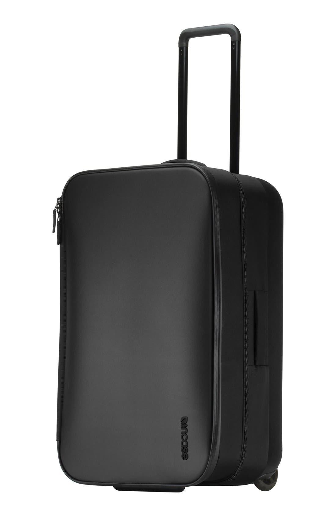VIA 34 Inch Wheeled Suitcase,                             Alternate thumbnail 4, color,                             001