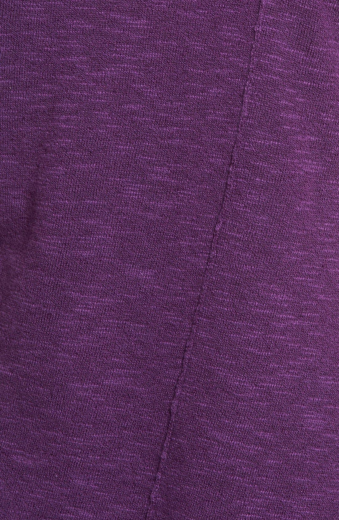 Cap Sleeve Organic Linen & Cotton Scoop Neck Top,                             Alternate thumbnail 33, color,