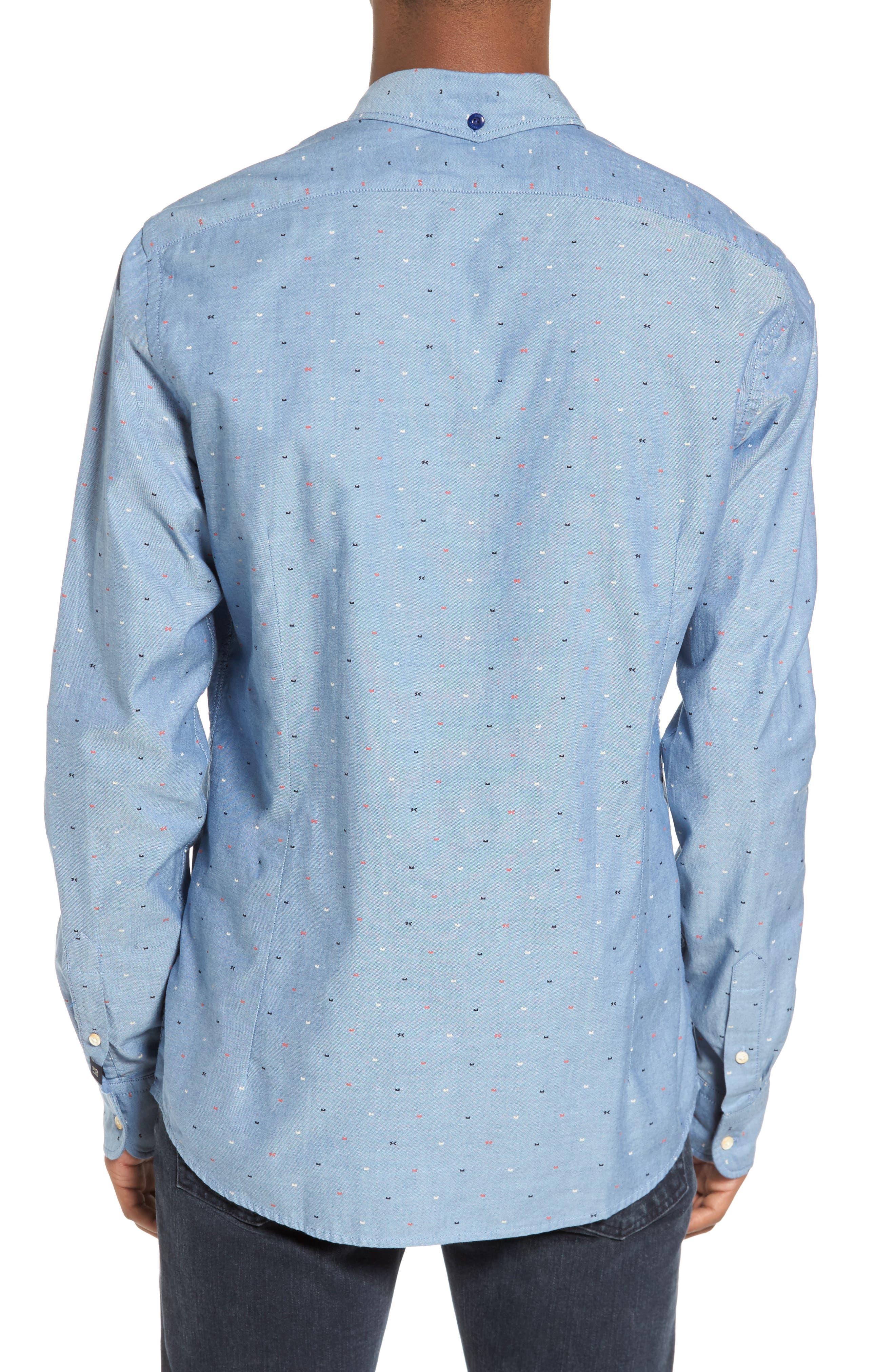 Classic Oxford Shirt,                             Alternate thumbnail 2, color,