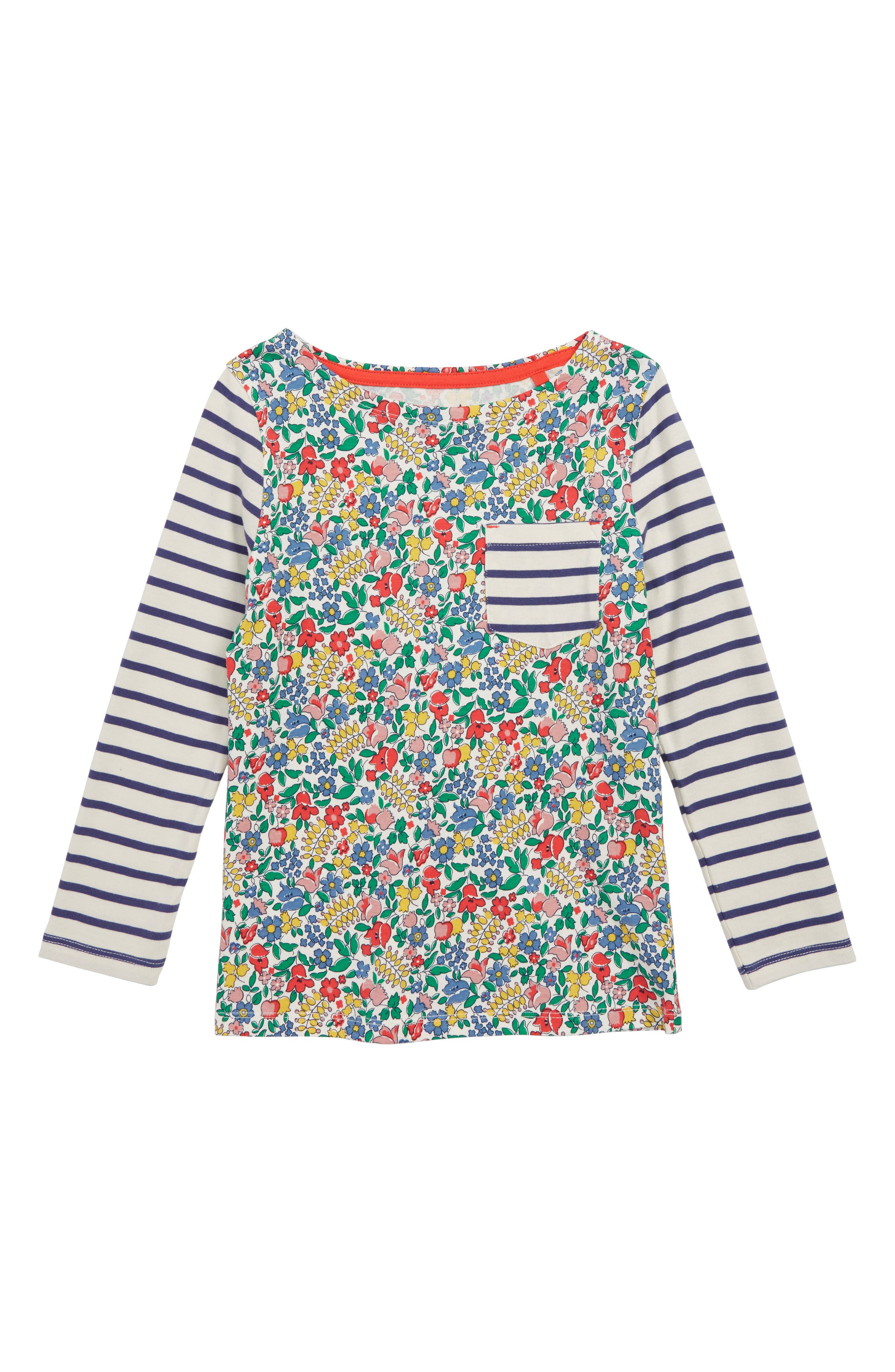 Hotchpotch T-Shirt,                         Main,                         color, MULTI FLOWERBED