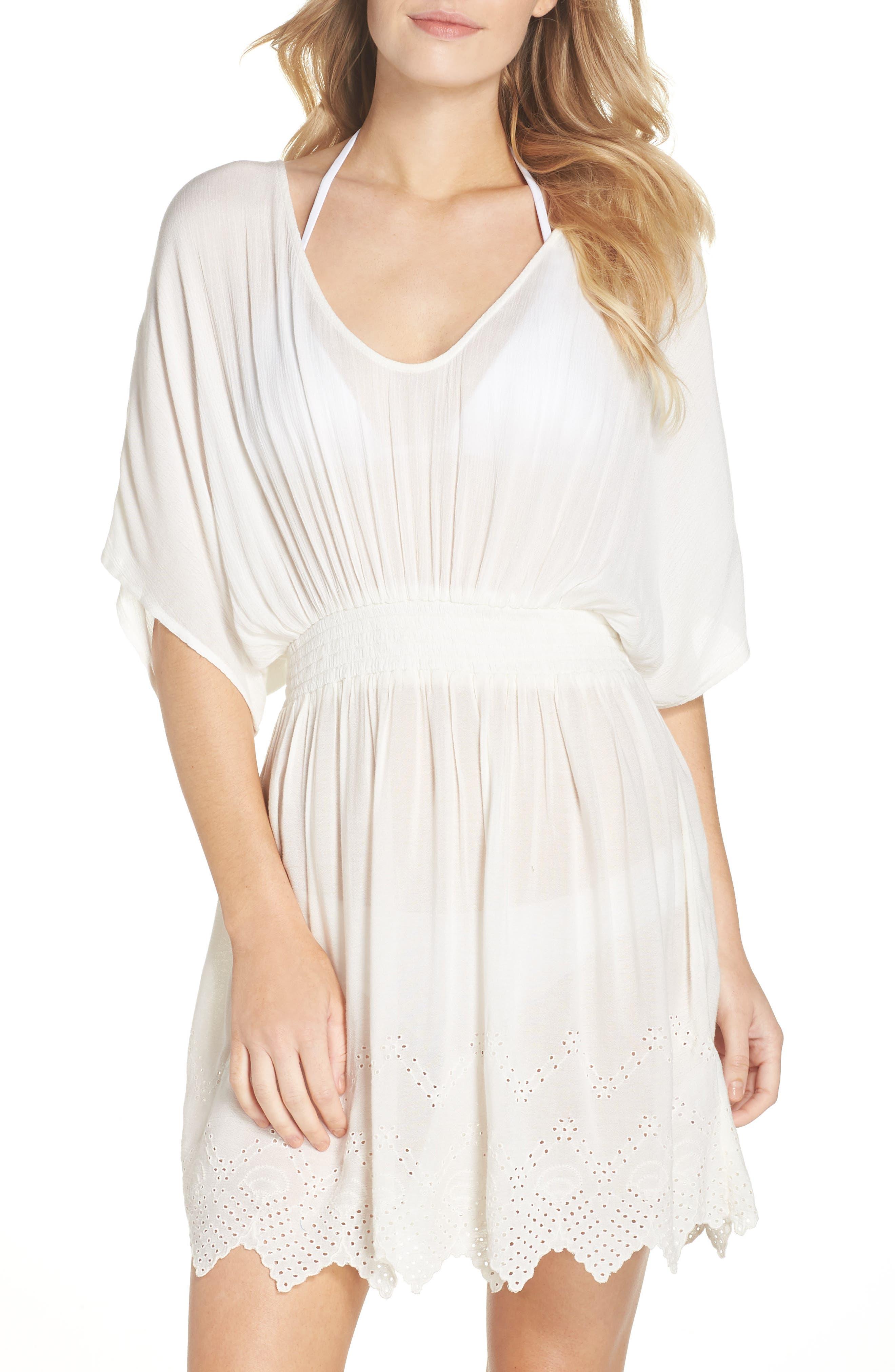 Goddess Cover-Up Dress,                         Main,                         color, IVORY EGRET