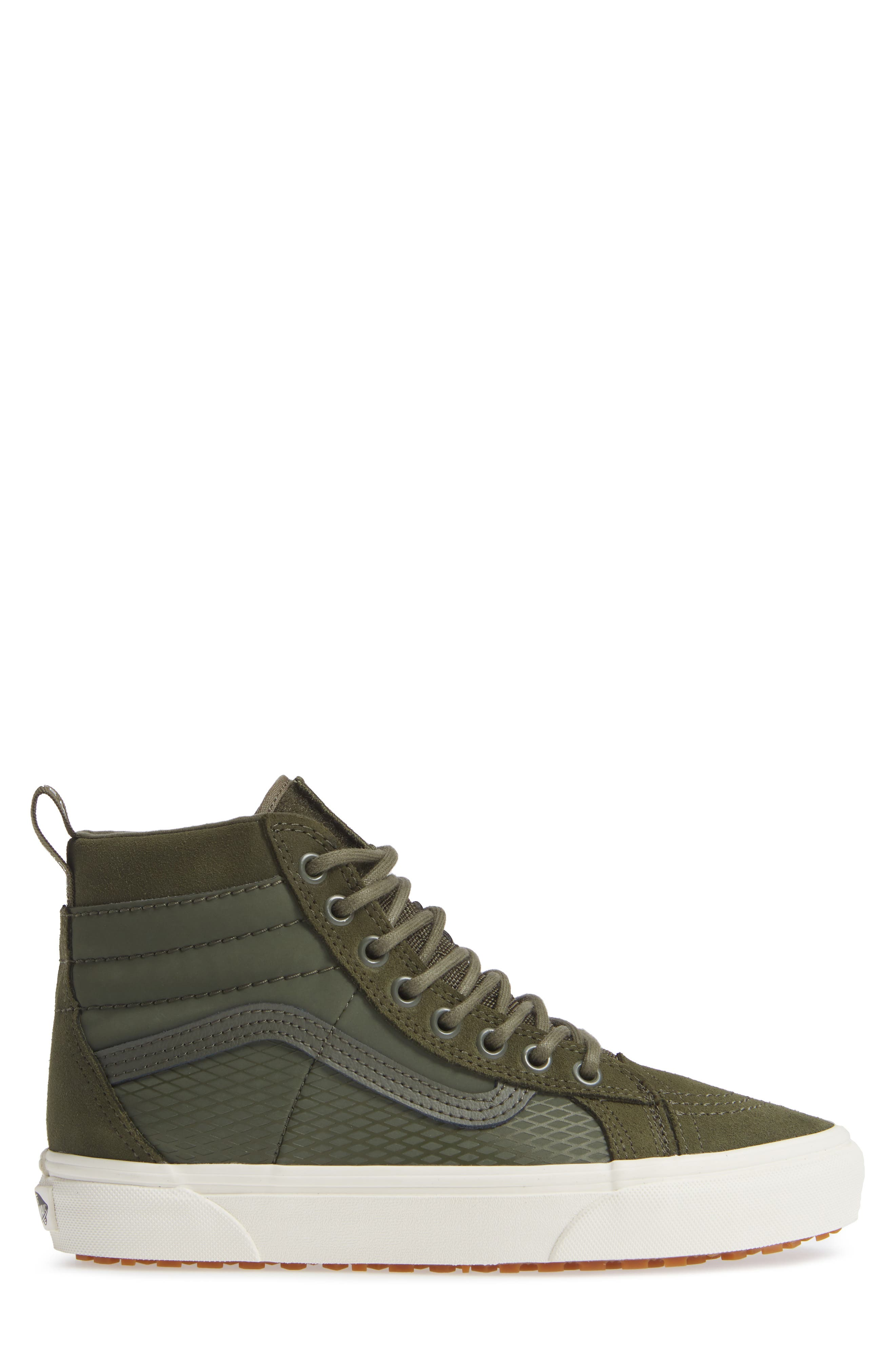 Sk8-Hi 46 MTE DX Sneaker,                             Alternate thumbnail 3, color,                             GRAPE LEAF
