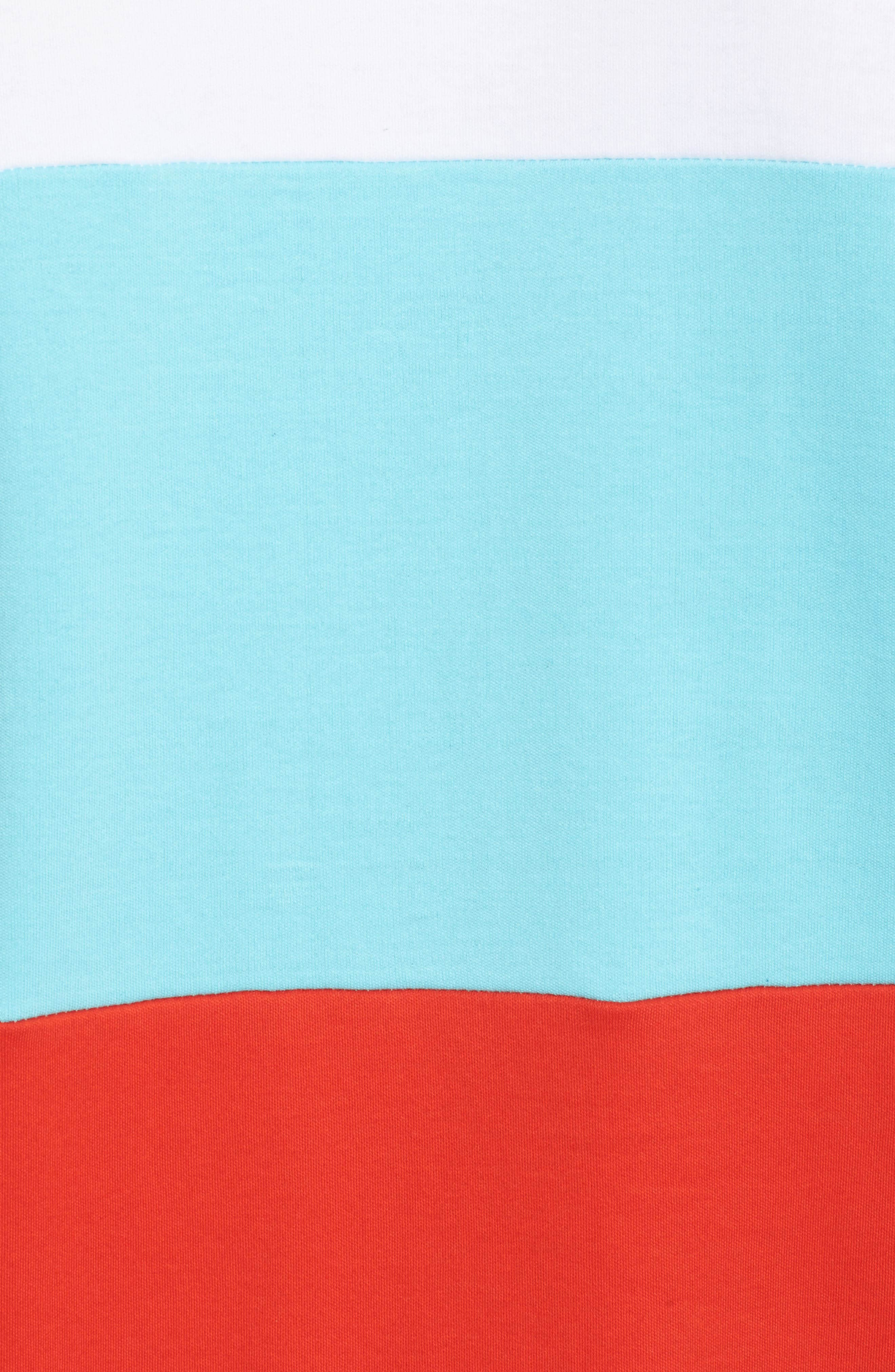 Vialli Colorblock Logo T-Shirt,                             Alternate thumbnail 5, color,                             400
