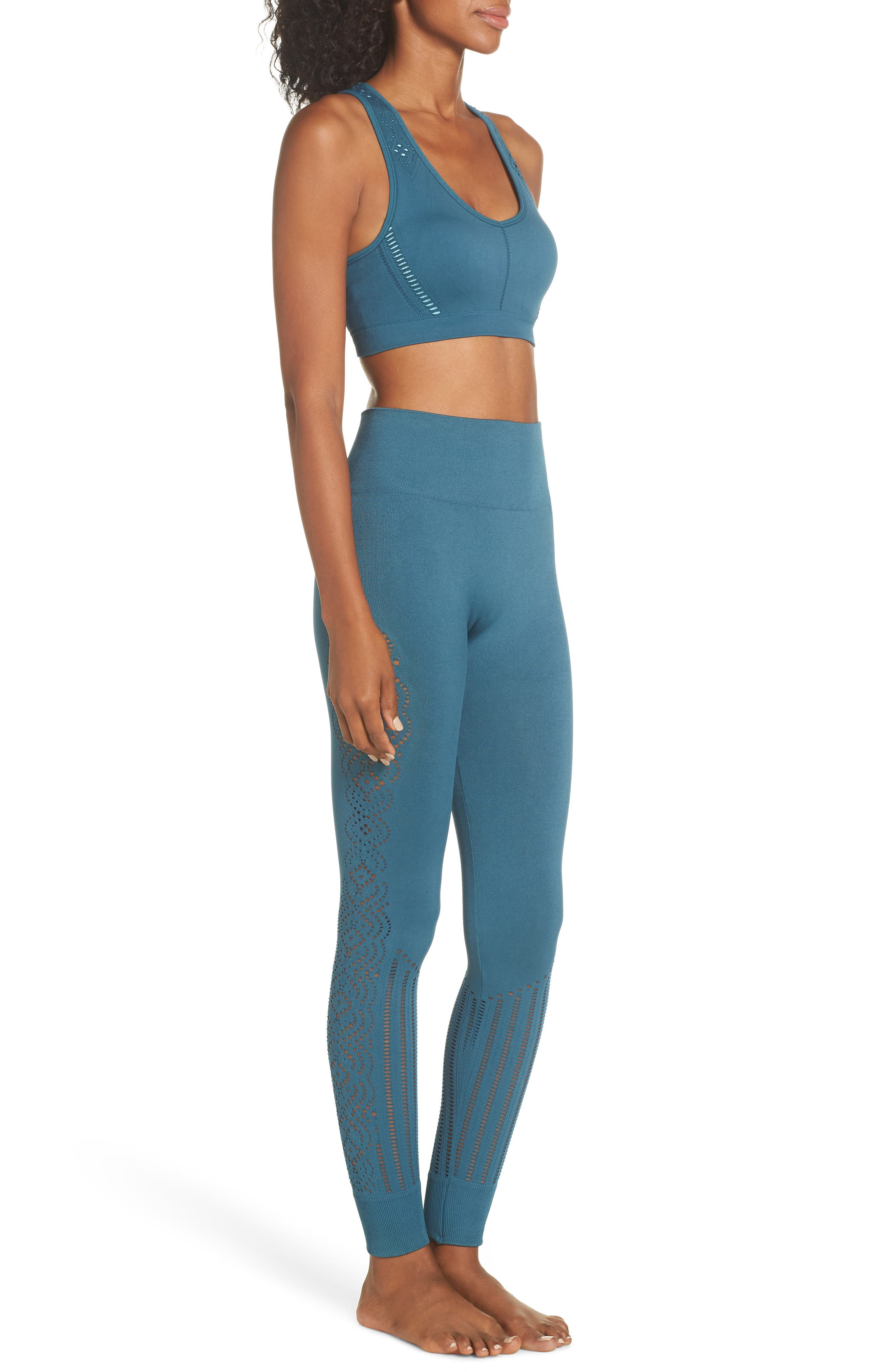 CLIMAWEAR,                             Hansa Sports Bra,                             Alternate thumbnail 9, color,                             NORTH SEA W/ AQUA HAZE