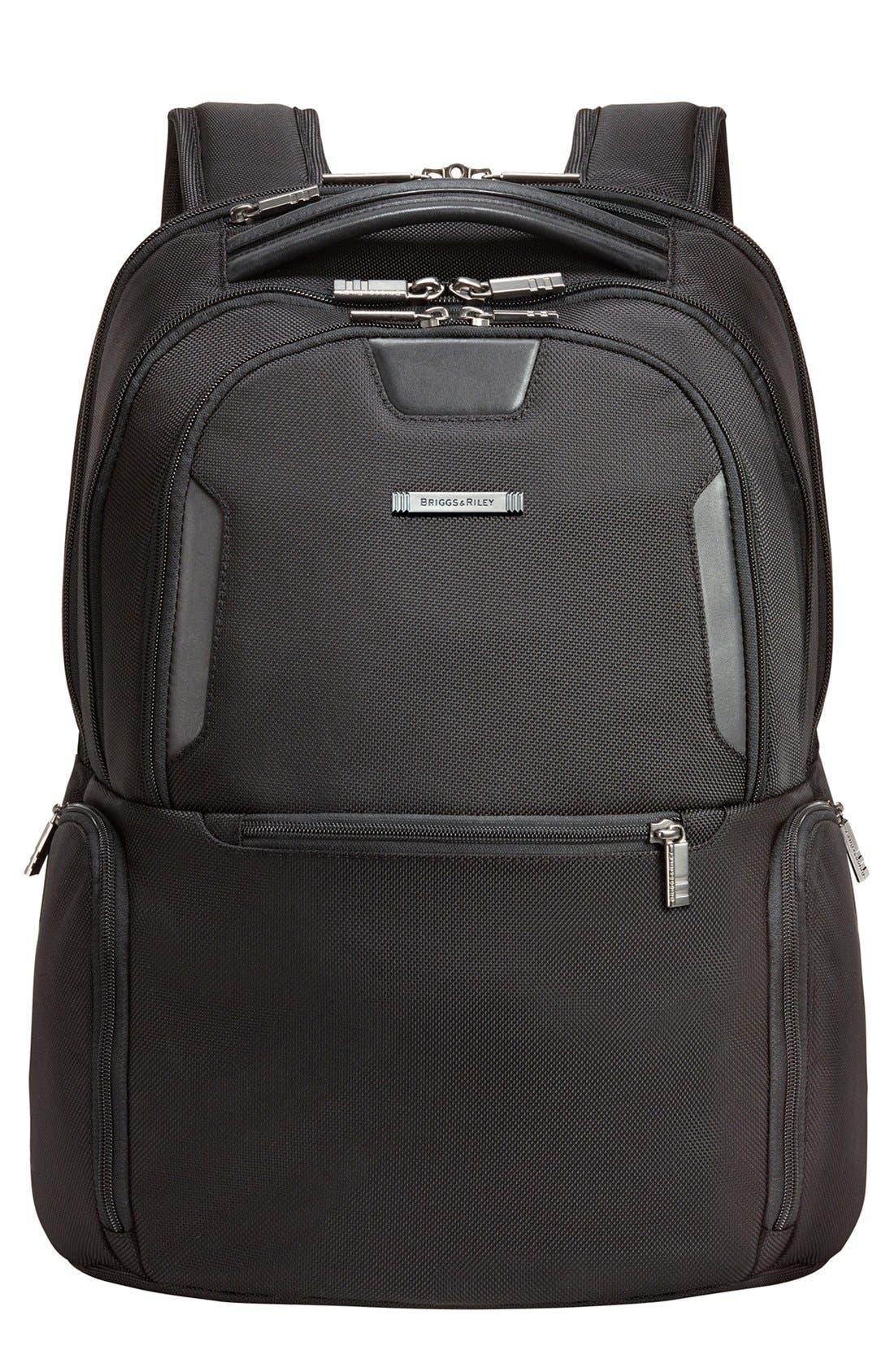 @work - Medium Backpack,                             Main thumbnail 1, color,                             004