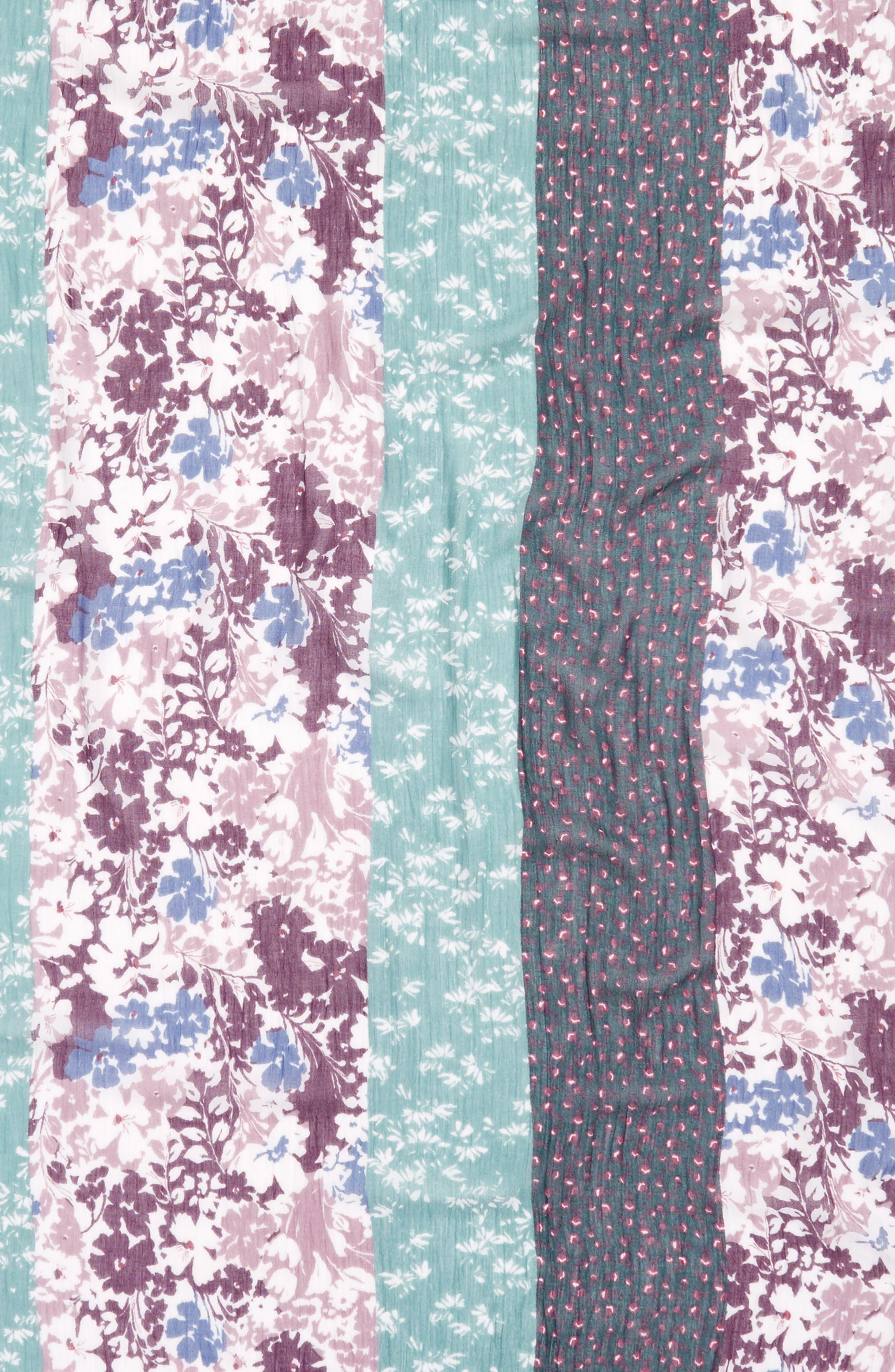 Tassel Trim Printed Wrap,                             Alternate thumbnail 19, color,