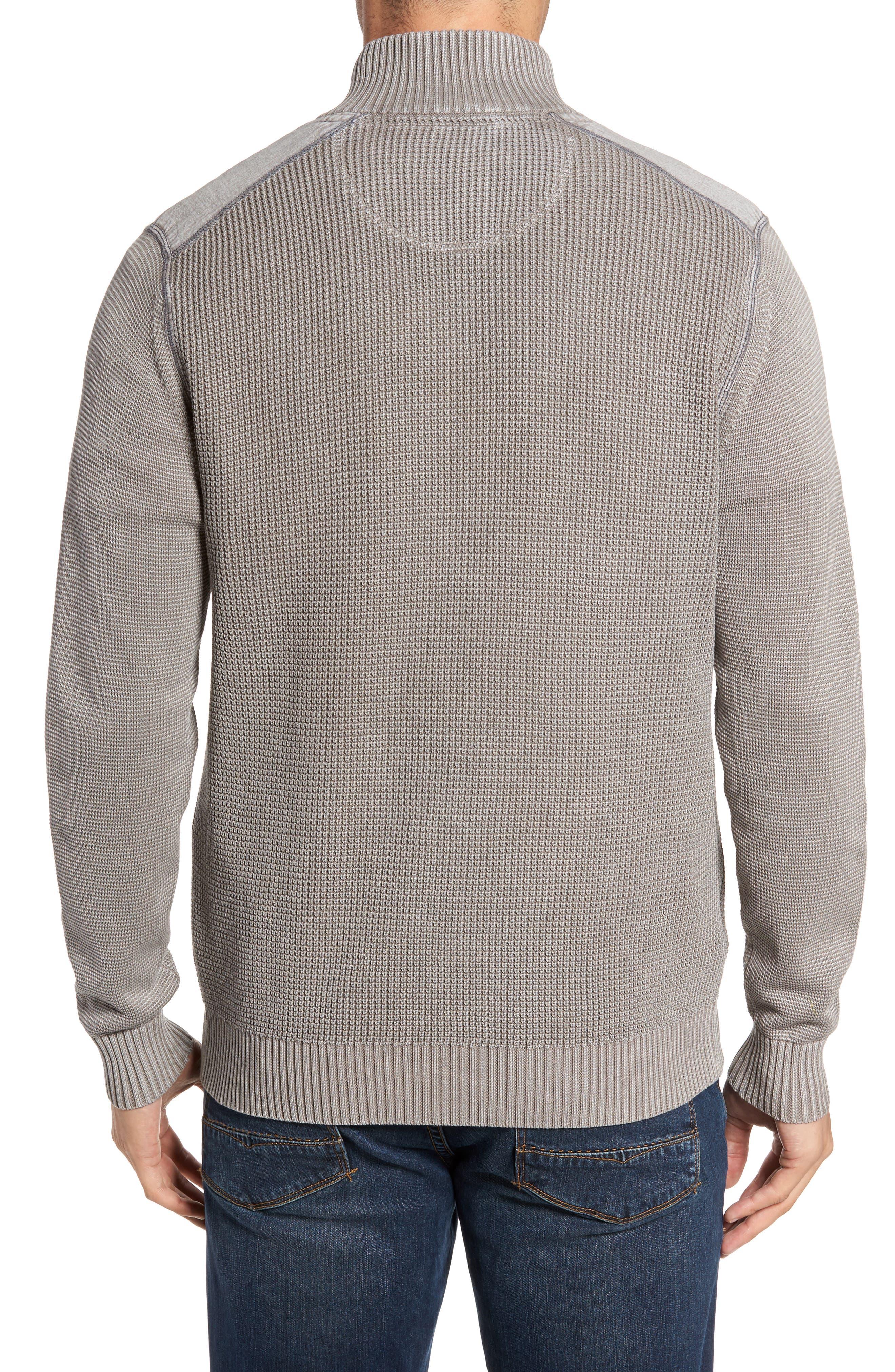 Coastal Shores Quarter Zip Sweater,                             Alternate thumbnail 8, color,