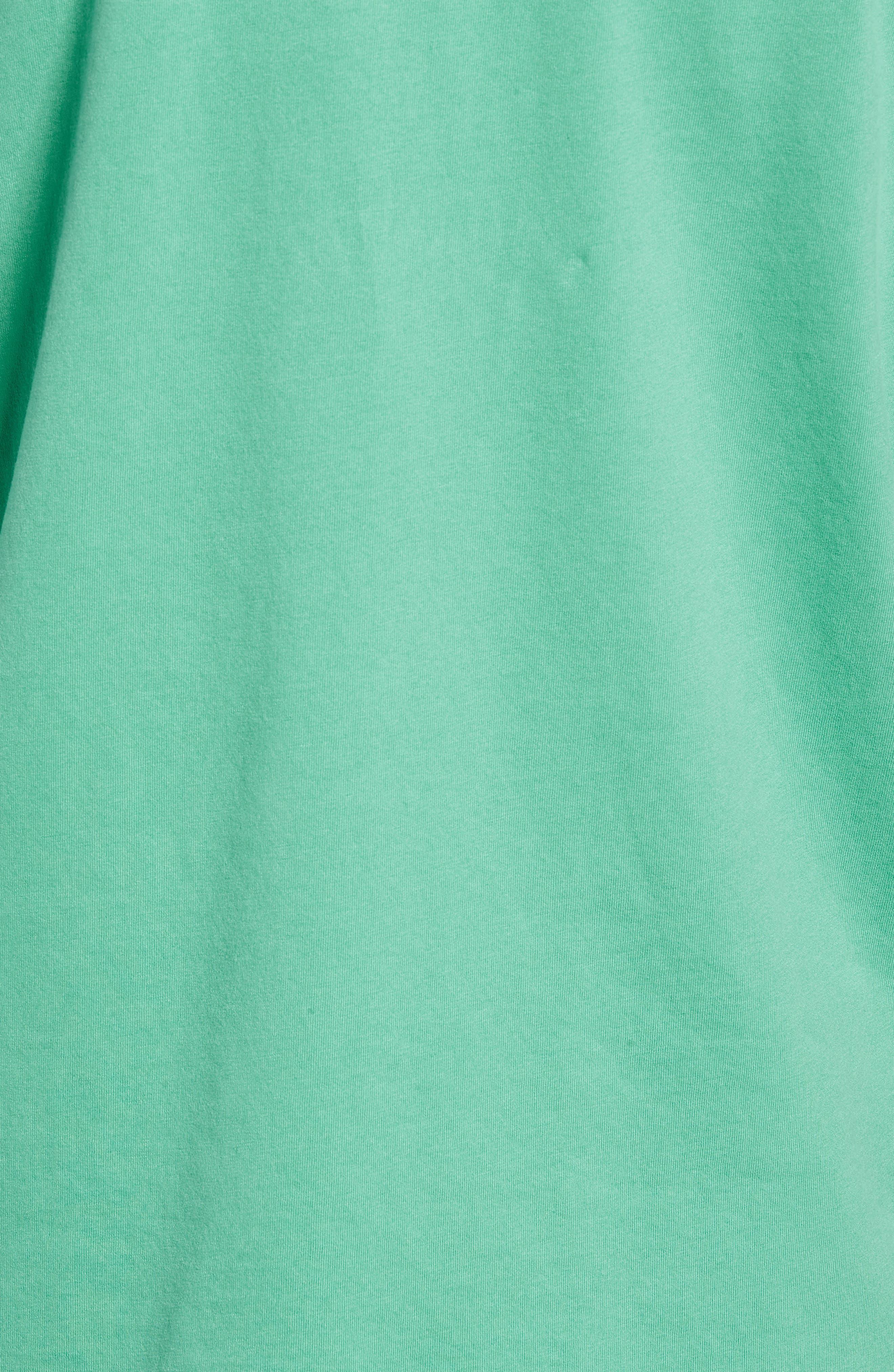 James Pima Long Sleeve Pocket T-Shirt,                             Alternate thumbnail 5, color,                             SEAFOAM GREEN