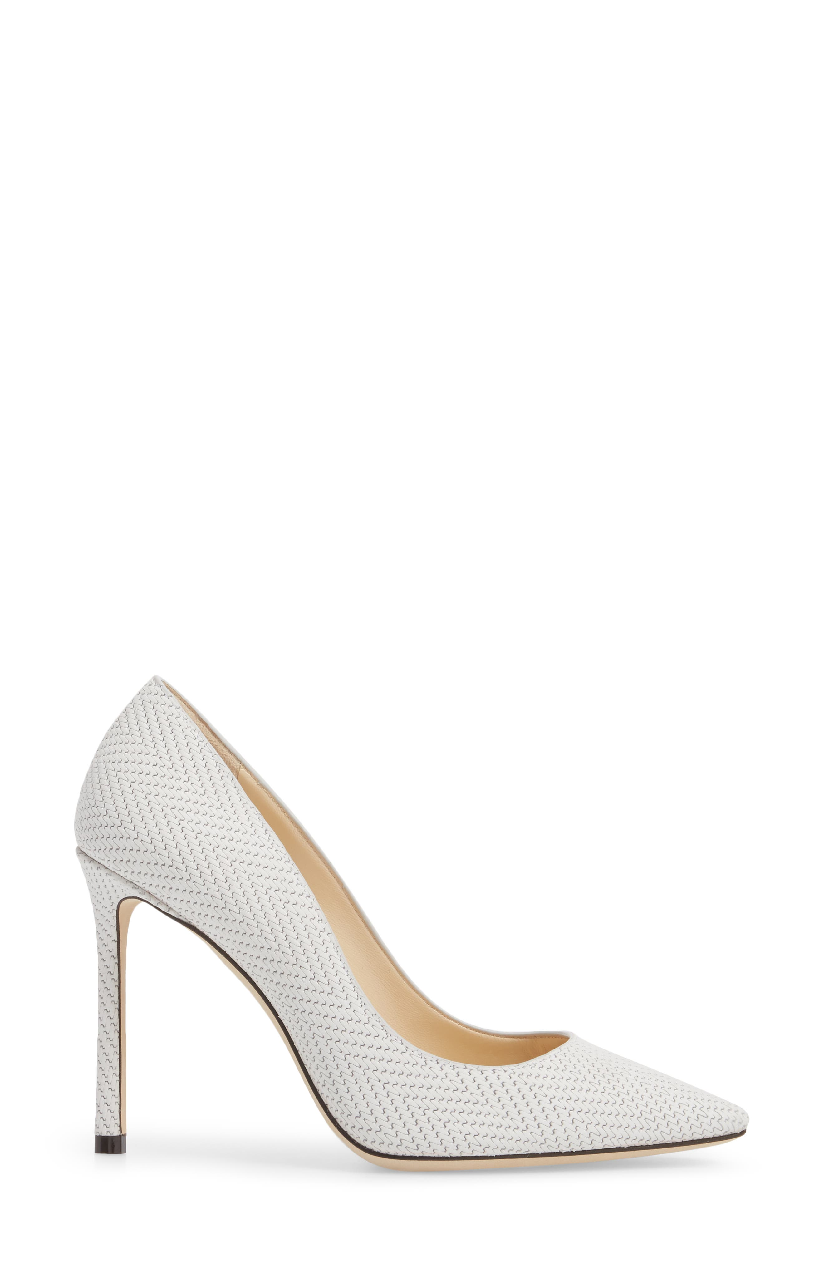 Romy Pointy Toe Pump,                             Alternate thumbnail 3, color,                             100