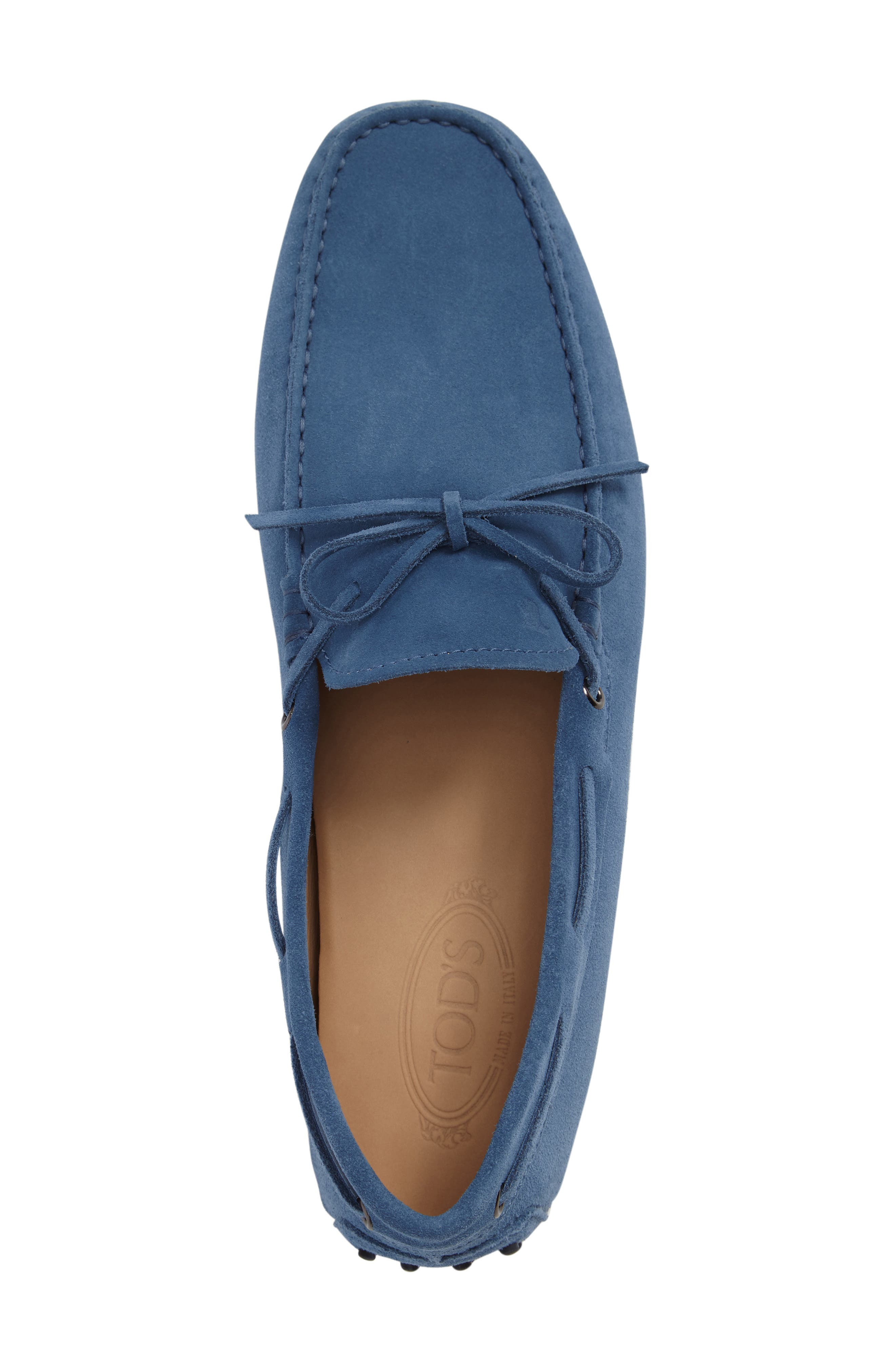 Gommini Tie Front Driving Moccasin,                             Alternate thumbnail 60, color,