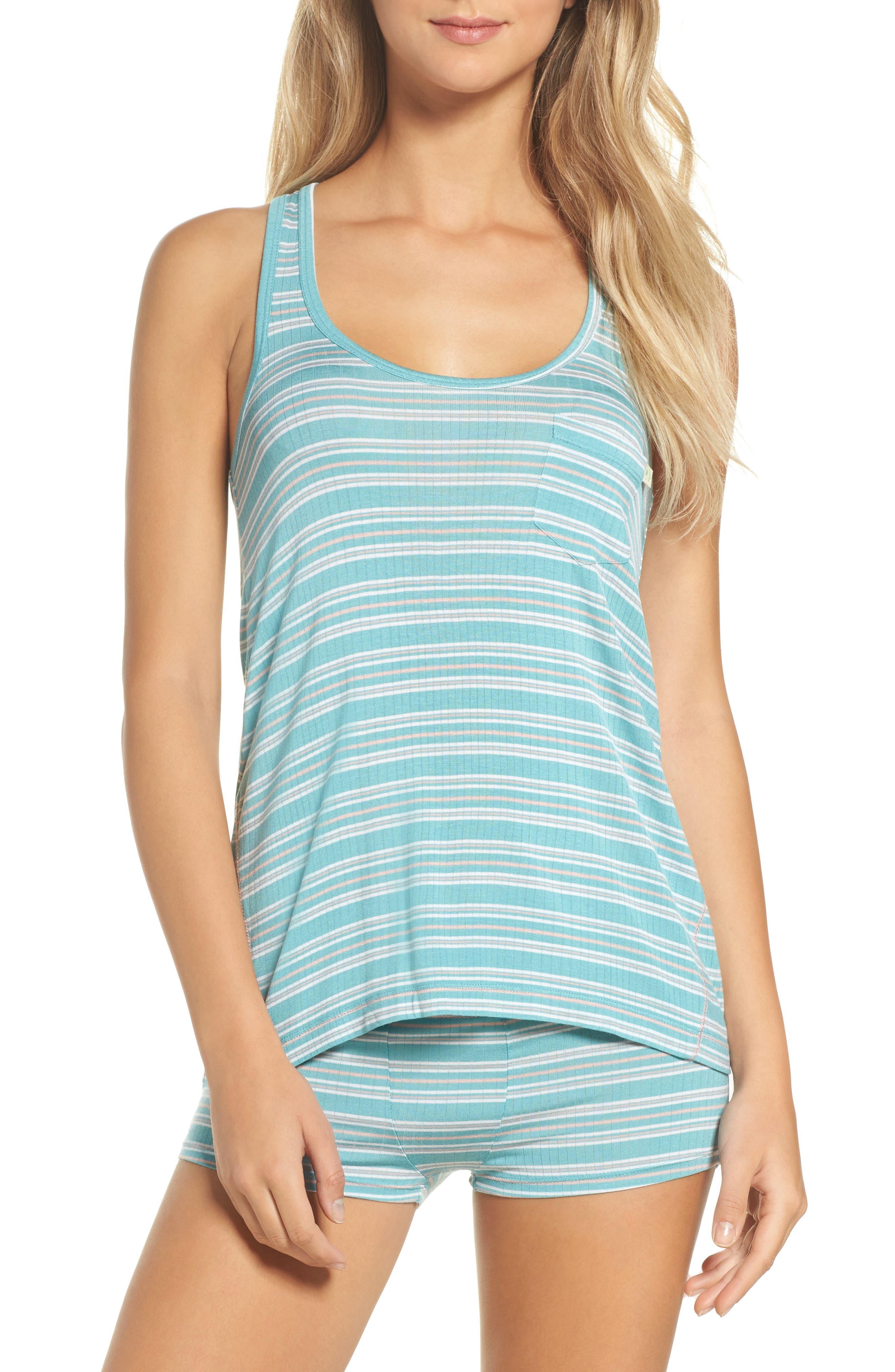 Rib Pajamas,                         Main,                         color, 300